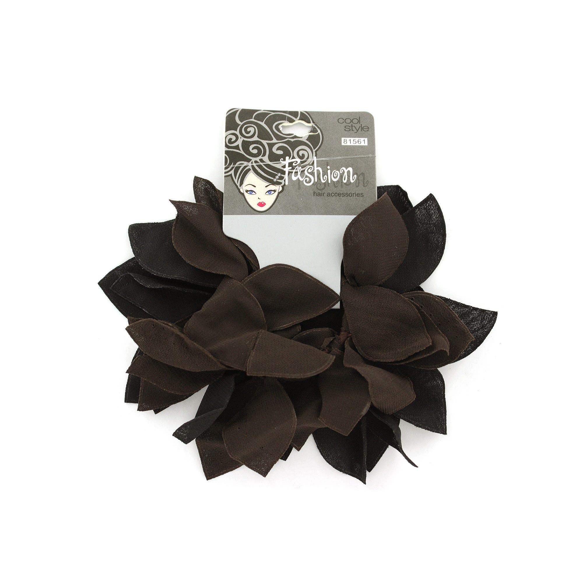 Black & Brown Hair BANDS- Qty 24