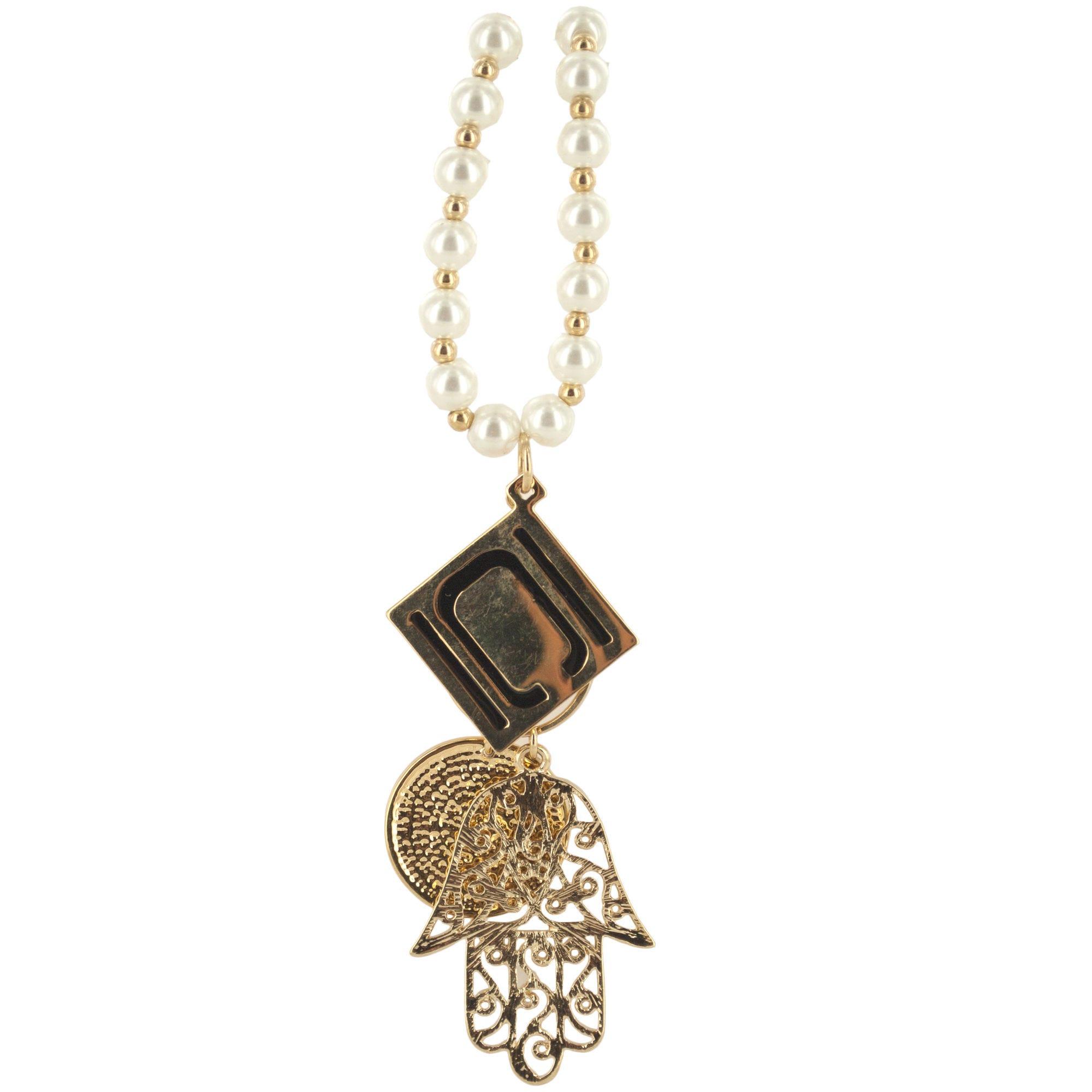 nikki-chu-GOLD-pearl-logo-hand-necklace