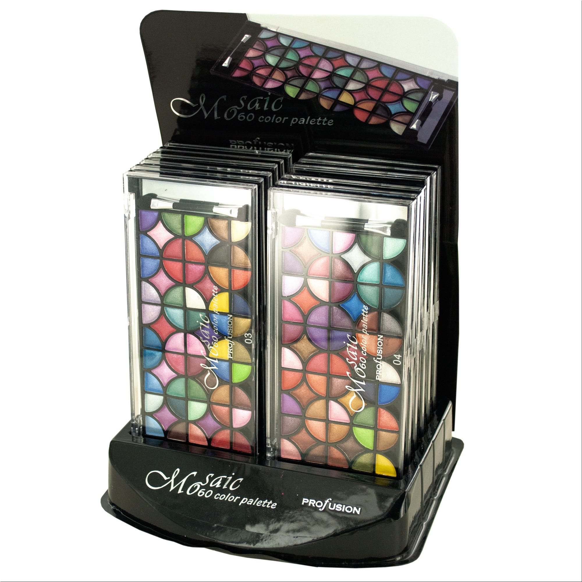 Pearl EYESHADOW Palette Countertop Display- Qty 12