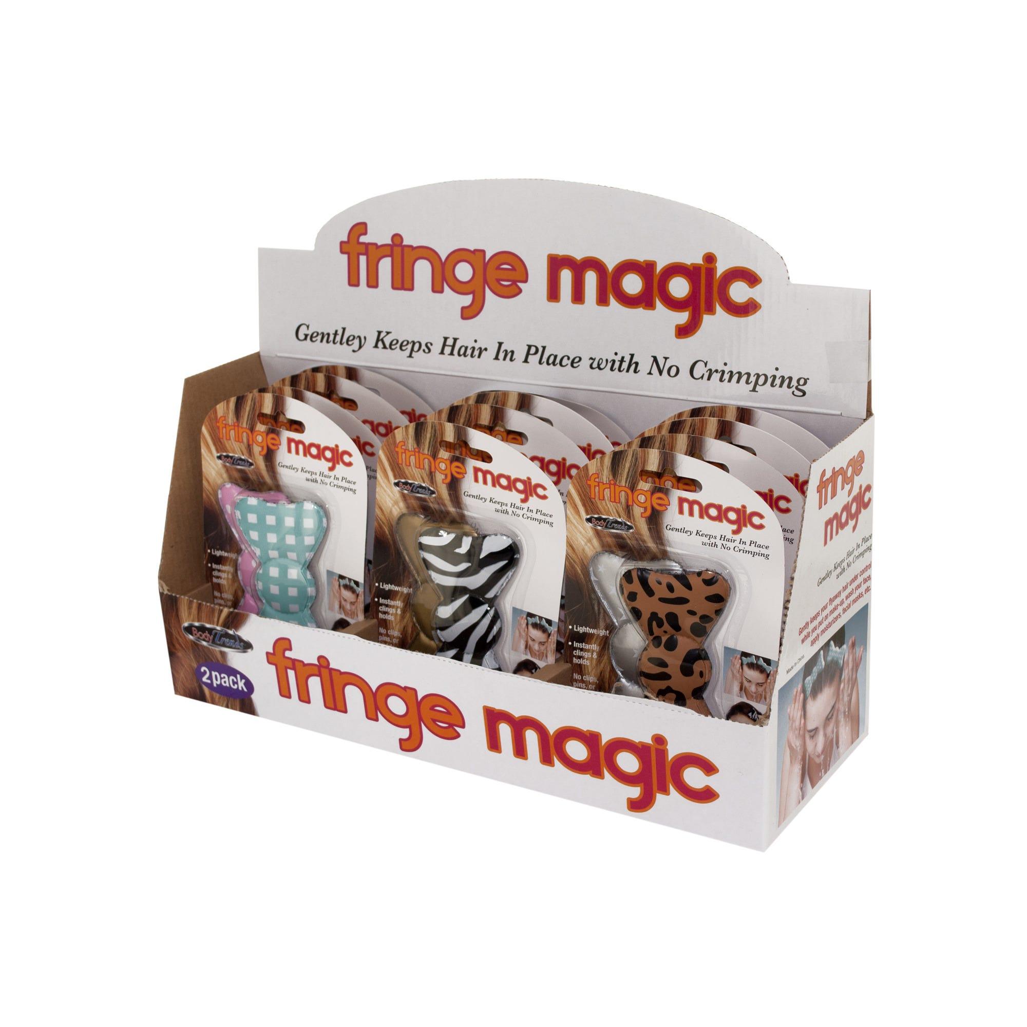 Fringe Magic HAIR BOWs Countertop Display- Qty 12