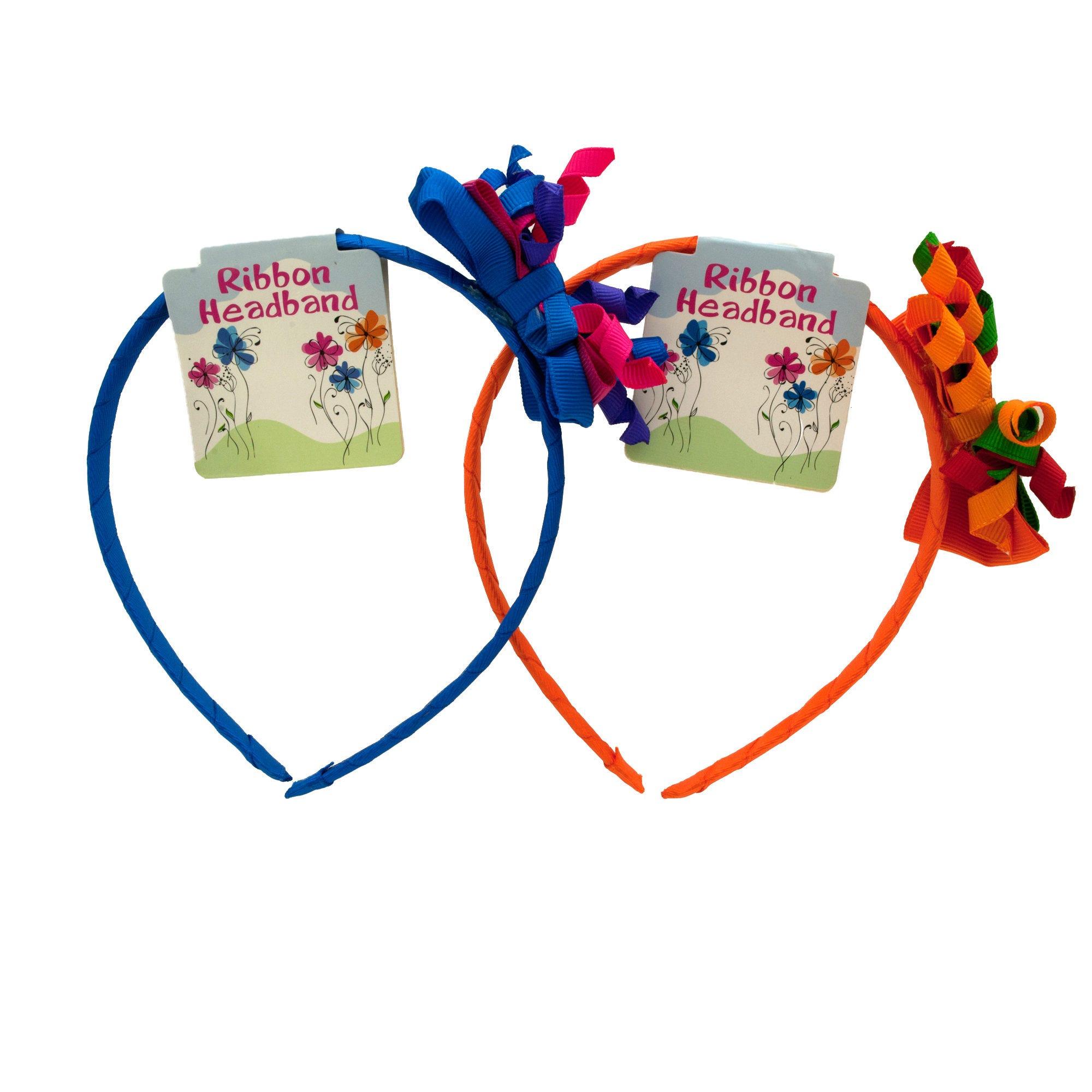 Children's Ribbon HEADBAND- Qty 24