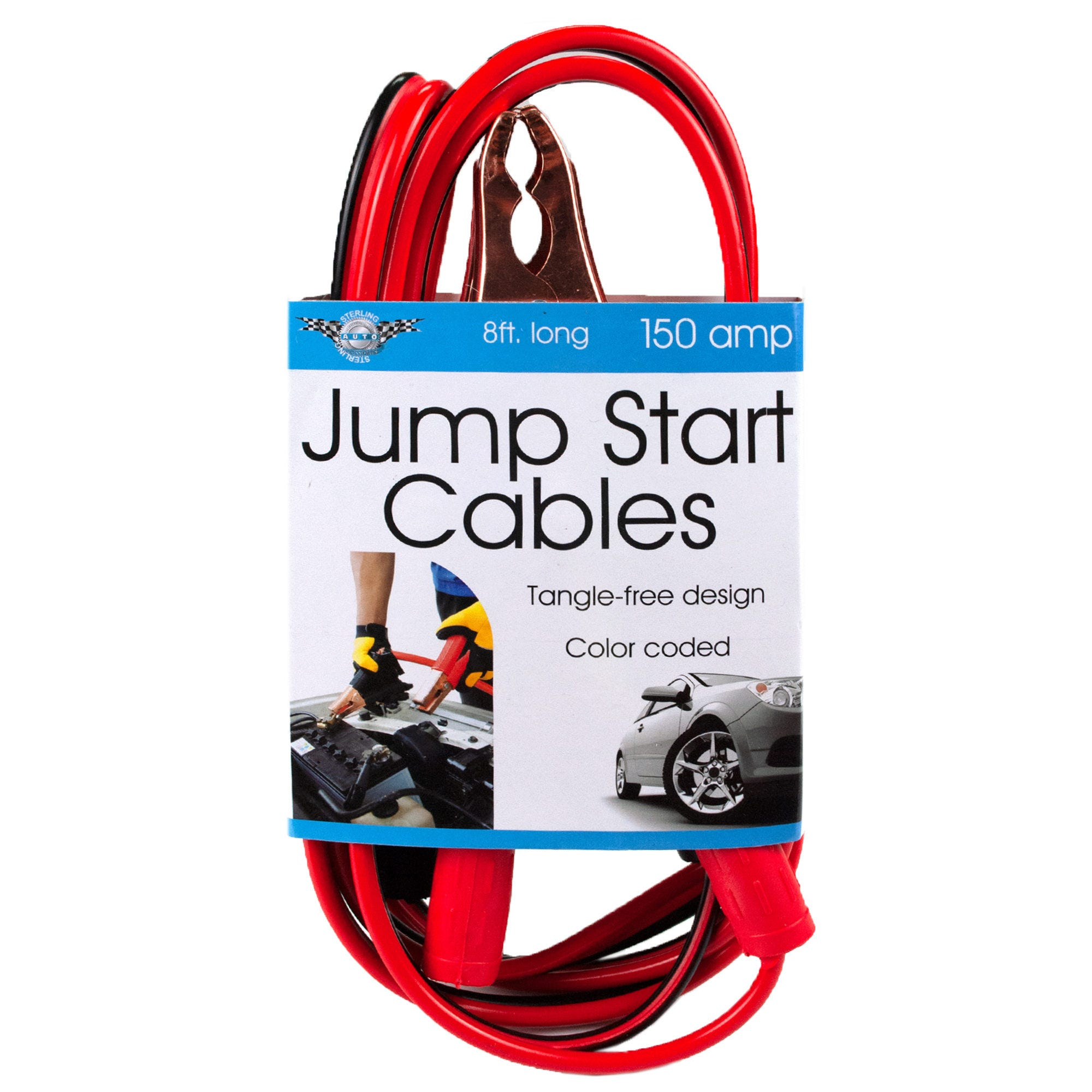Color Coded Jump Start Cables