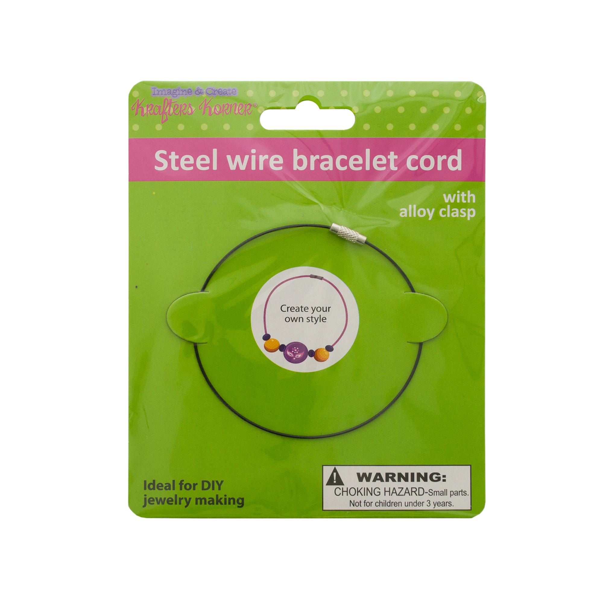 Steel Wire Craft BRACELET- Qty 24