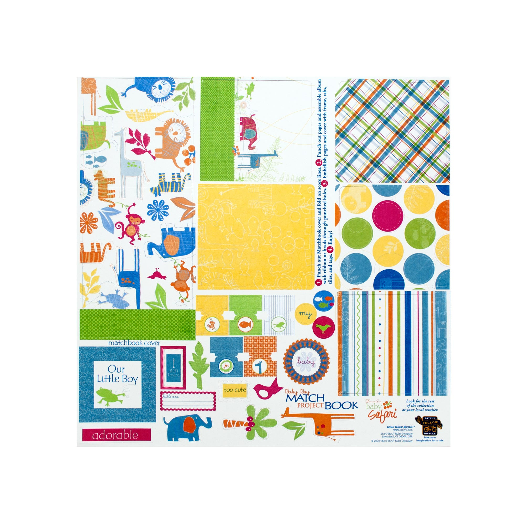 Wholesale album now available at wholesale central items 1 40 baby boy matchbook album kit solutioingenieria Gallery