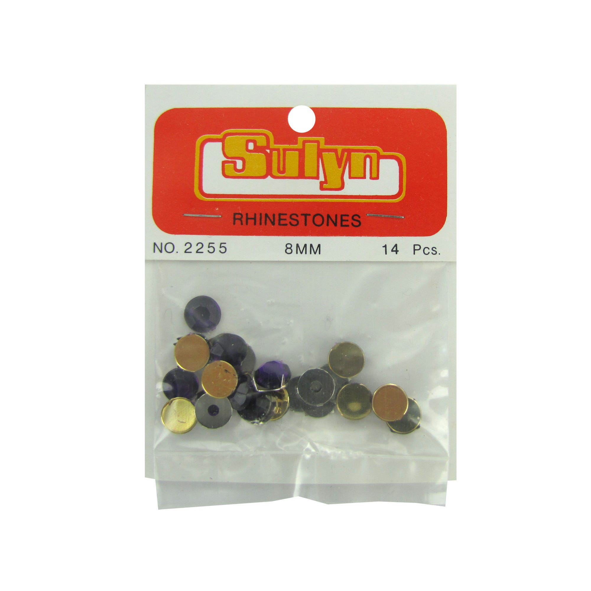 Purple Rhinestones- Qty 24
