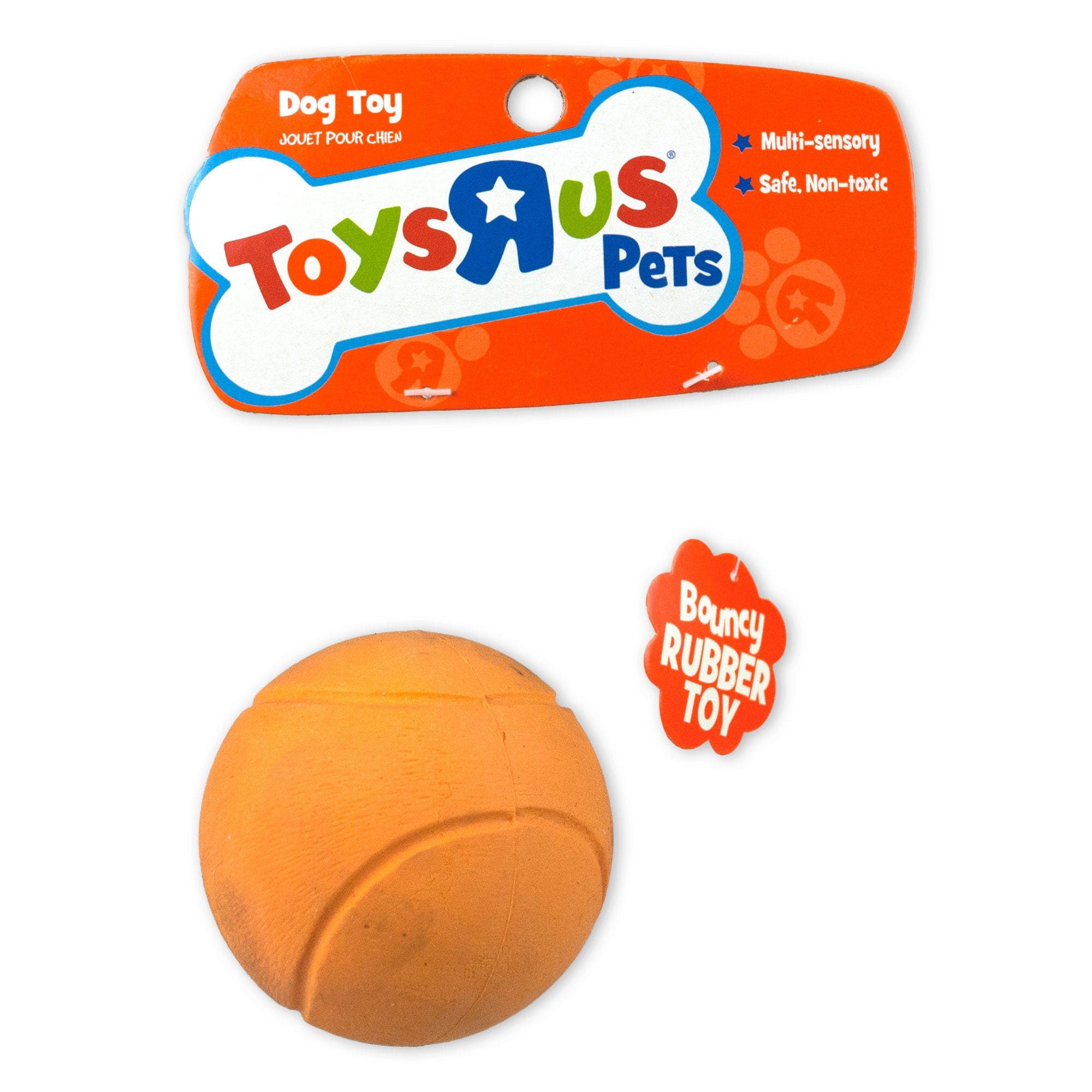 TOYS R Us Pets Bouncy Rubber Pet TOY Ball- Qty 24