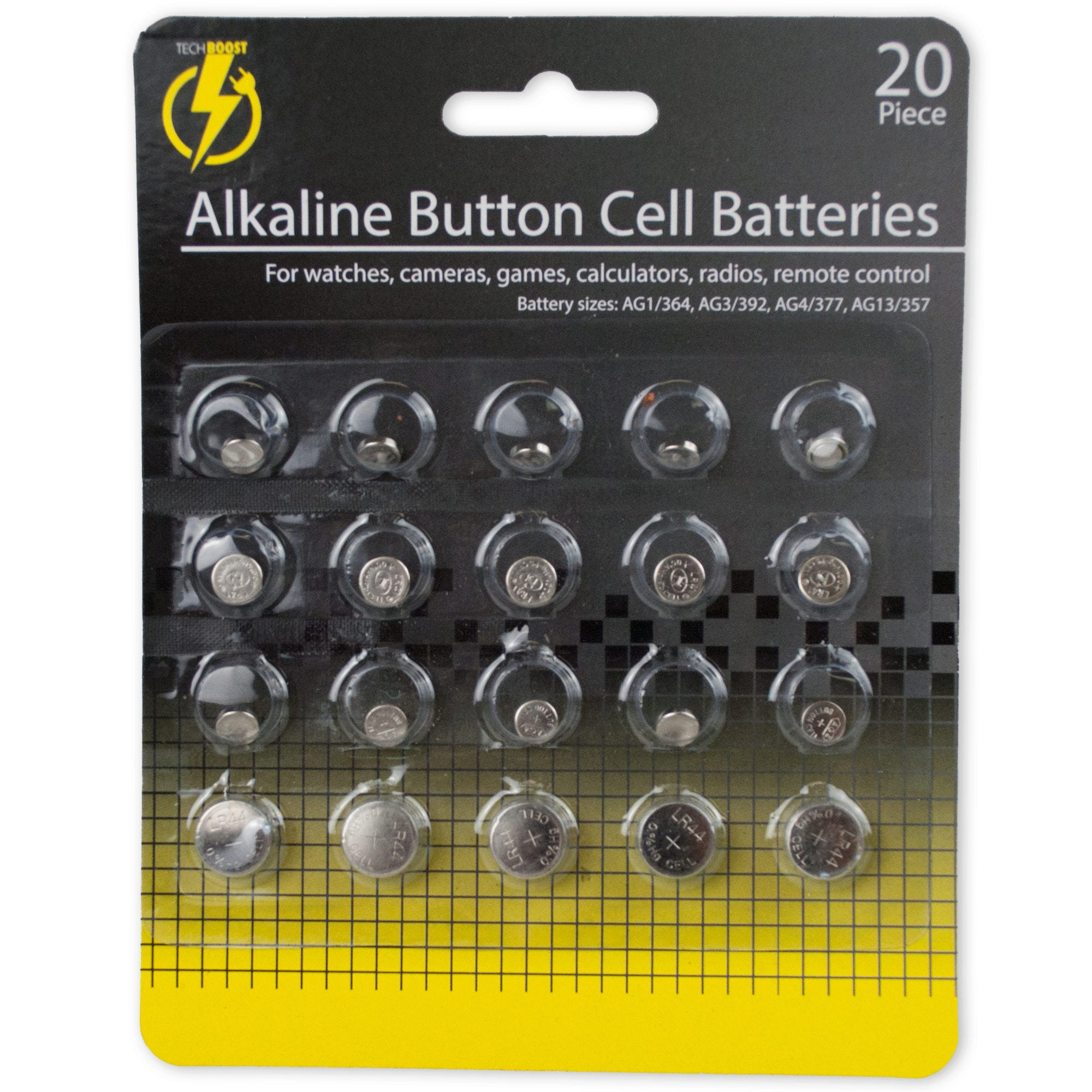 Alkaline Button Cell BATTERIES- Qty 24