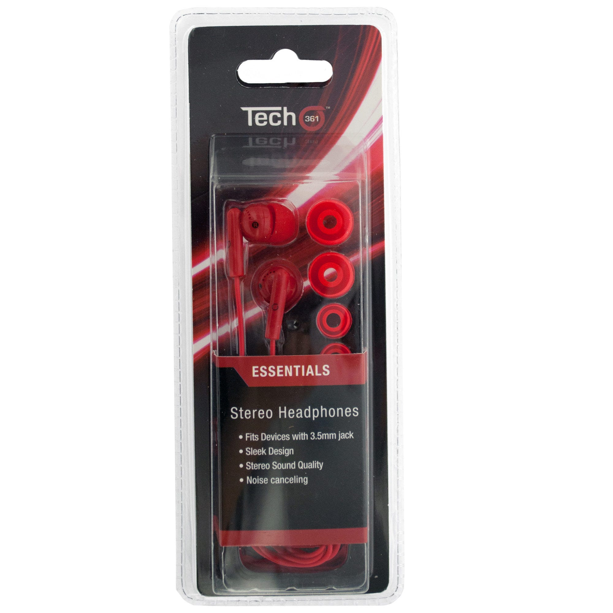 Stereo HEADPHONES with Extra Ear Cushions- Qty 18