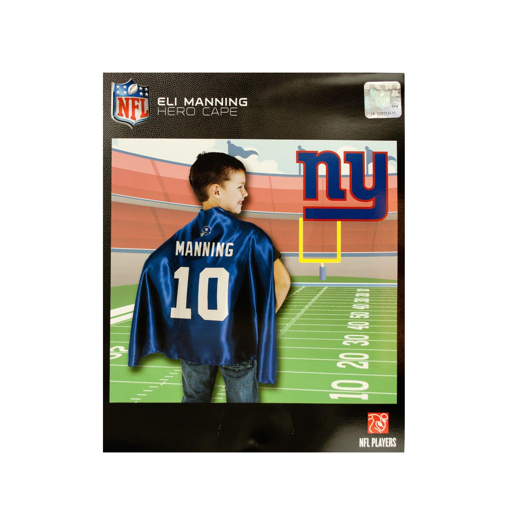 NEW York Giants Eli Manning Hero Cape- Qty 18