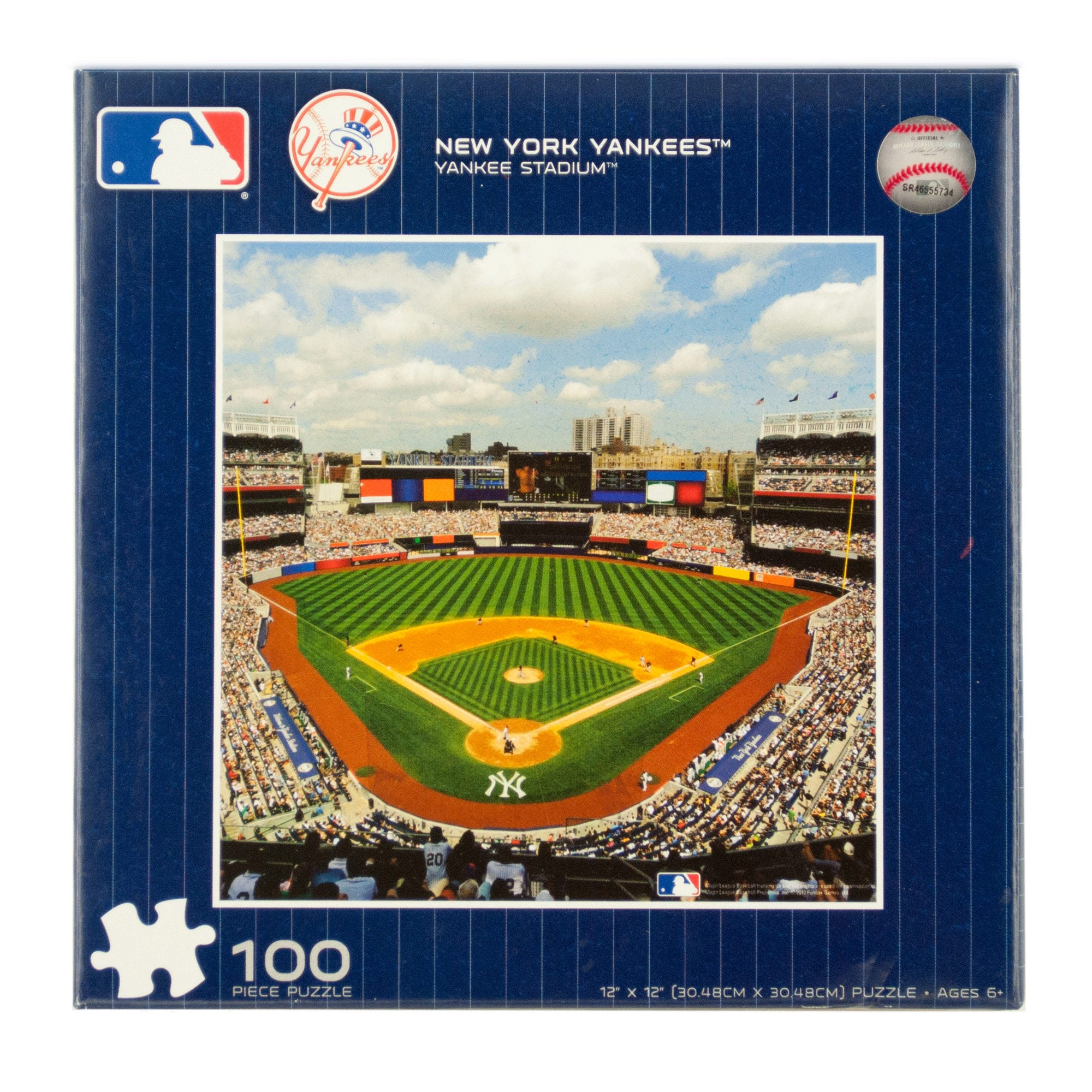 MLB Licensed New York YANKEES Puzzle- Qty 24