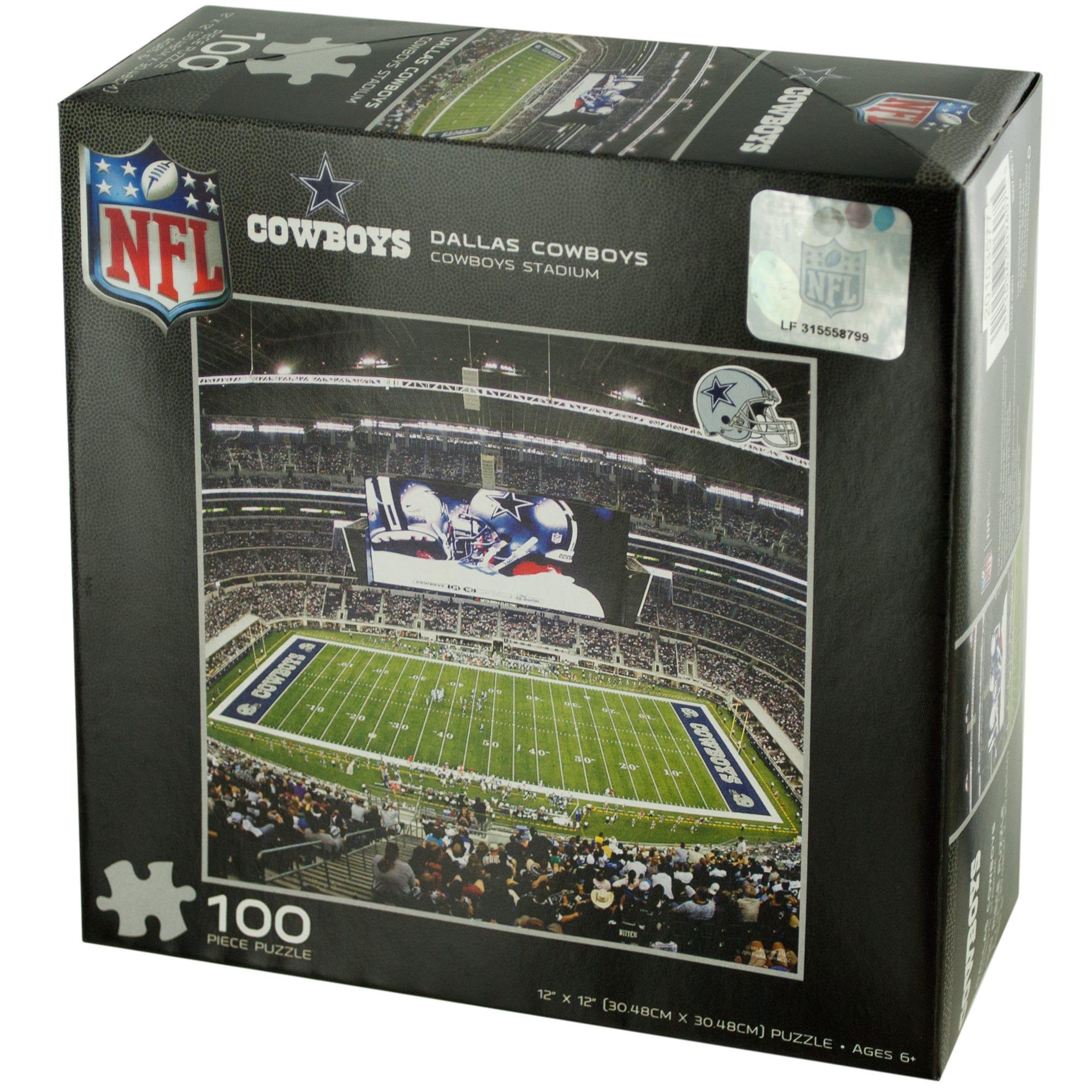 NFL Licensed Dallas Cowboys Puzzle- Qty 24