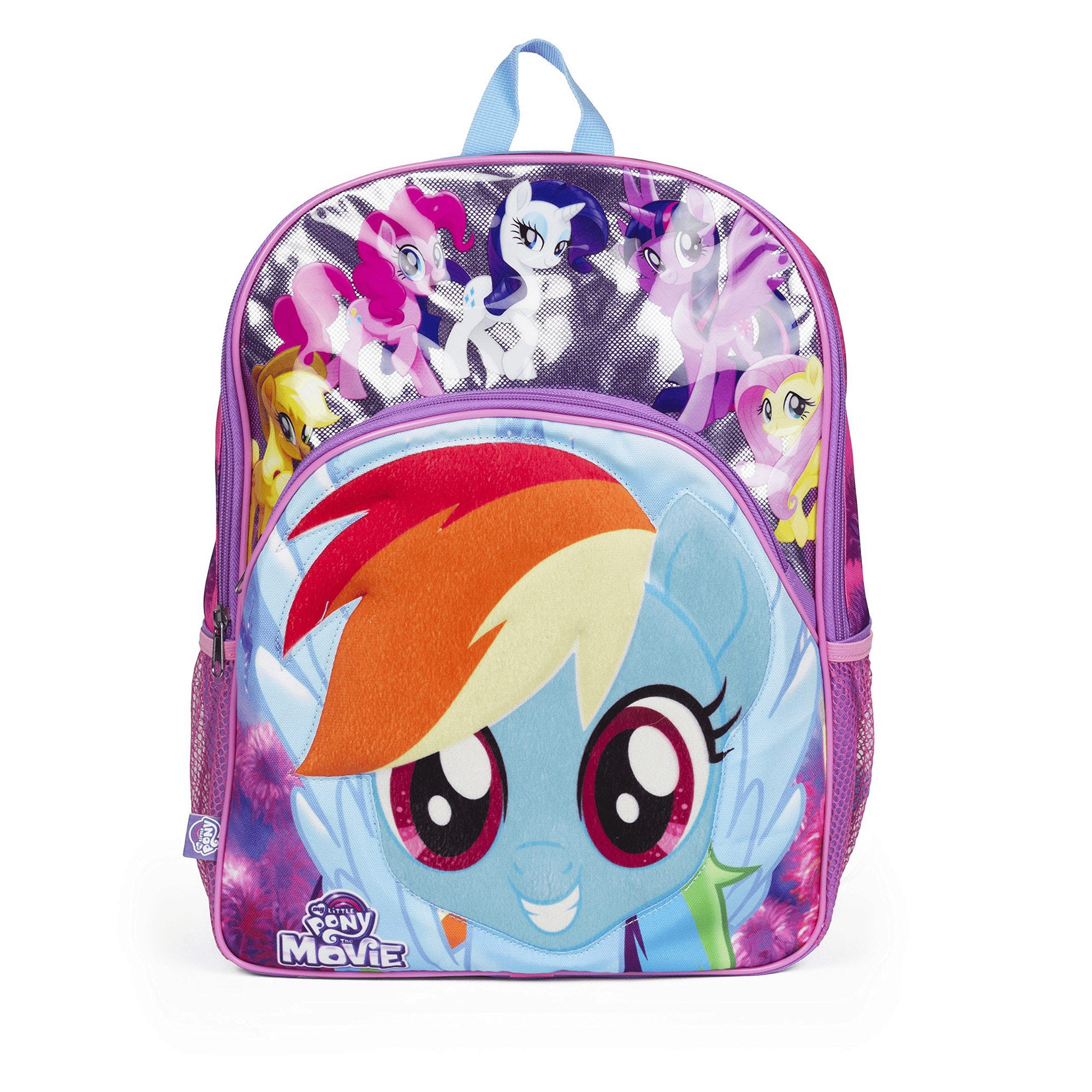 My Little Pony Backpack with 3D Graphic- Qty 4