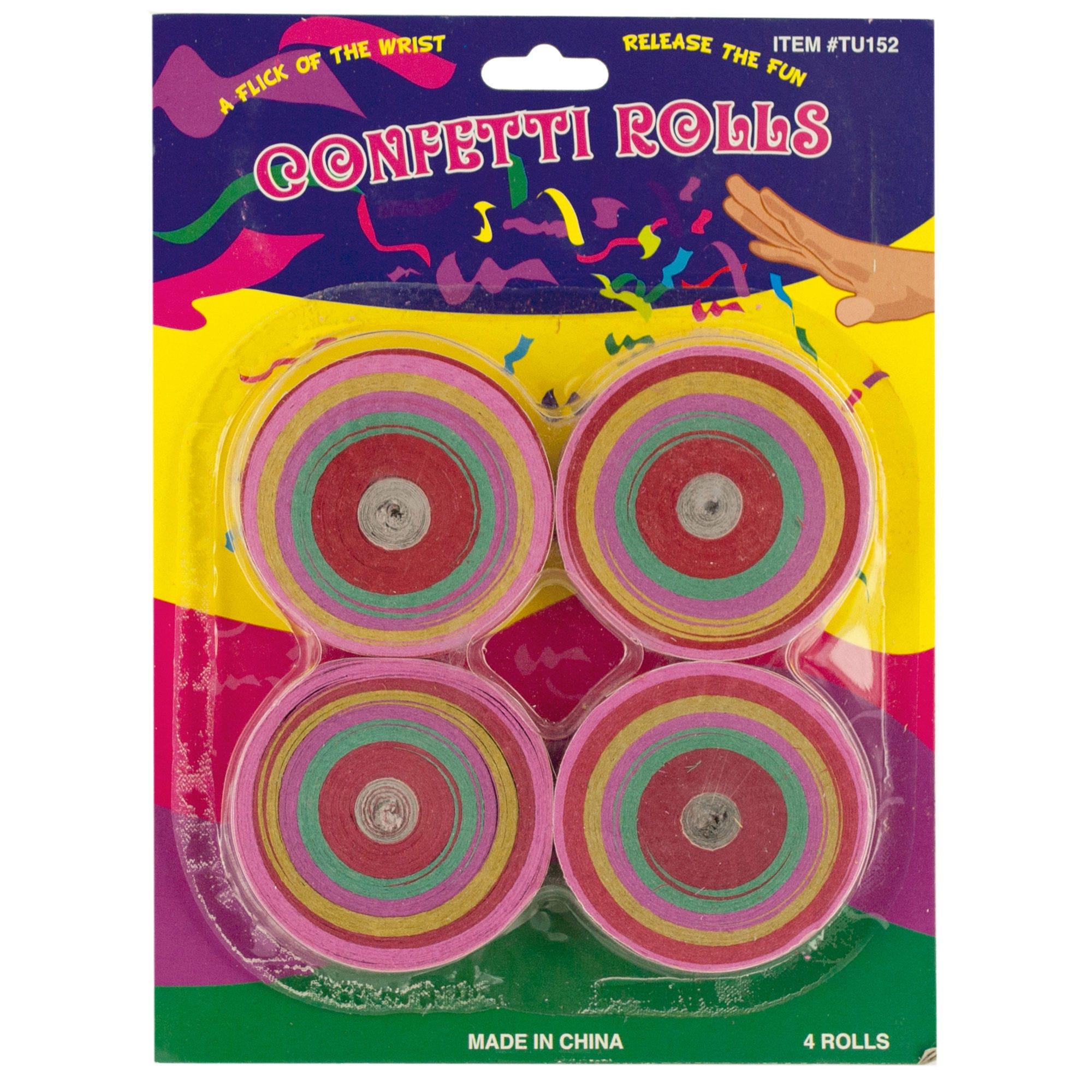 Confetti Rolls Set- Qty 24