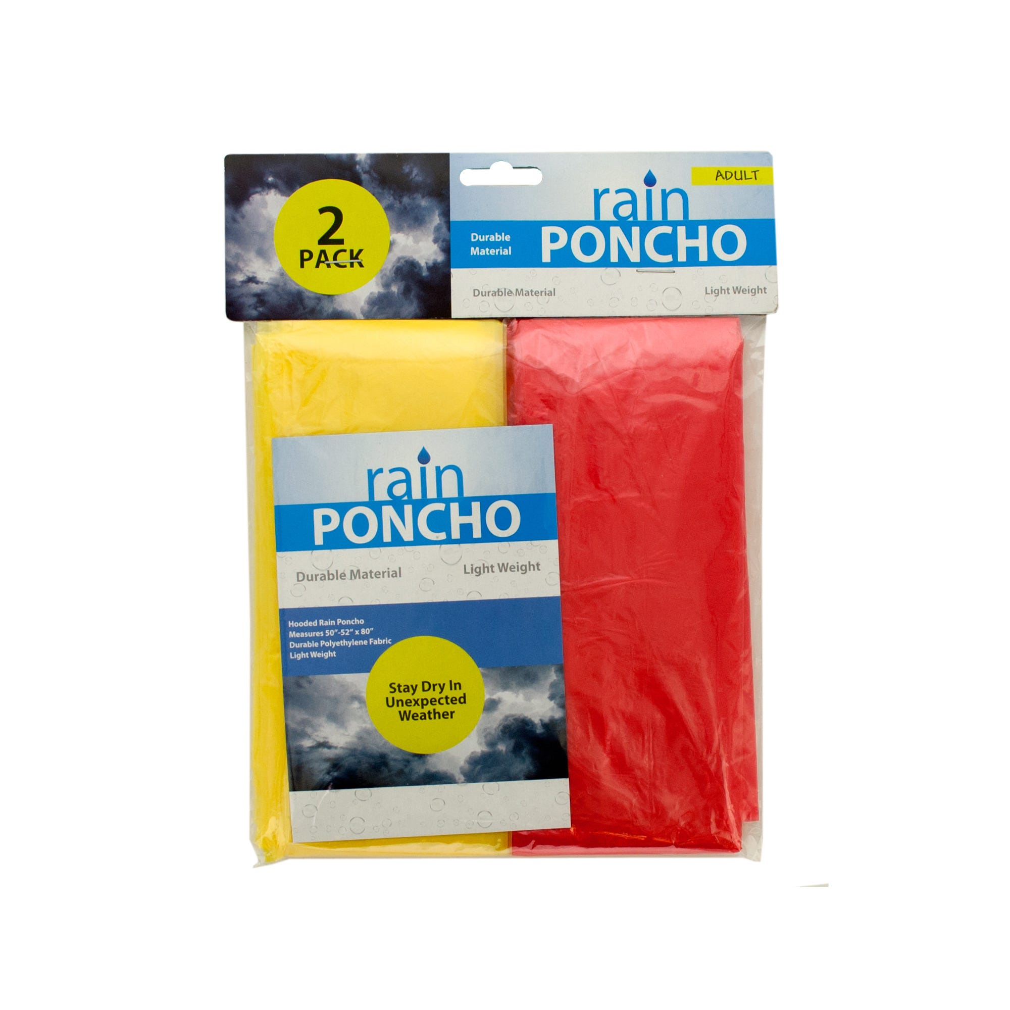 Emergency Rain PONCHOs- Qty 24