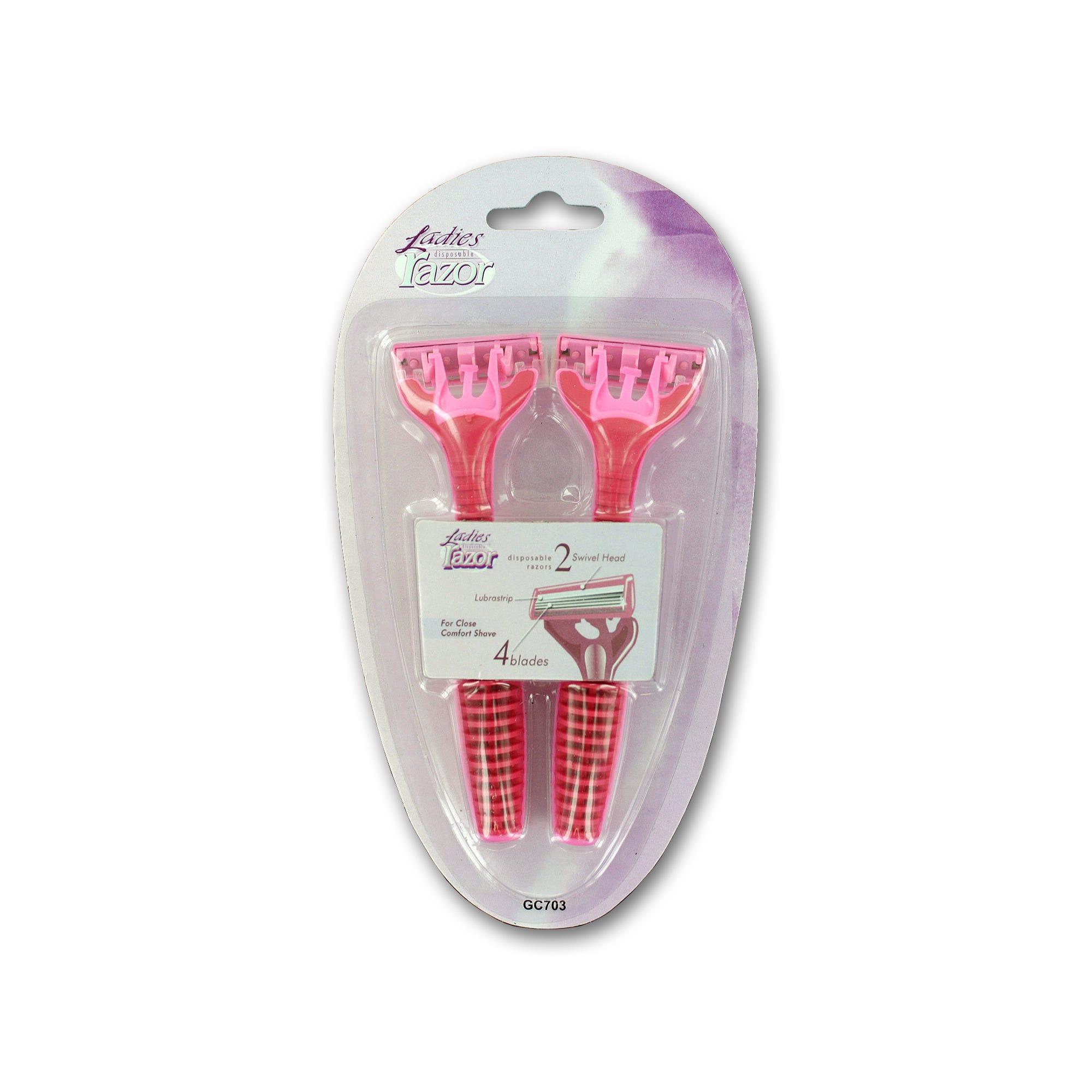 Ladies Disposable RAZOR Set- Qty 24