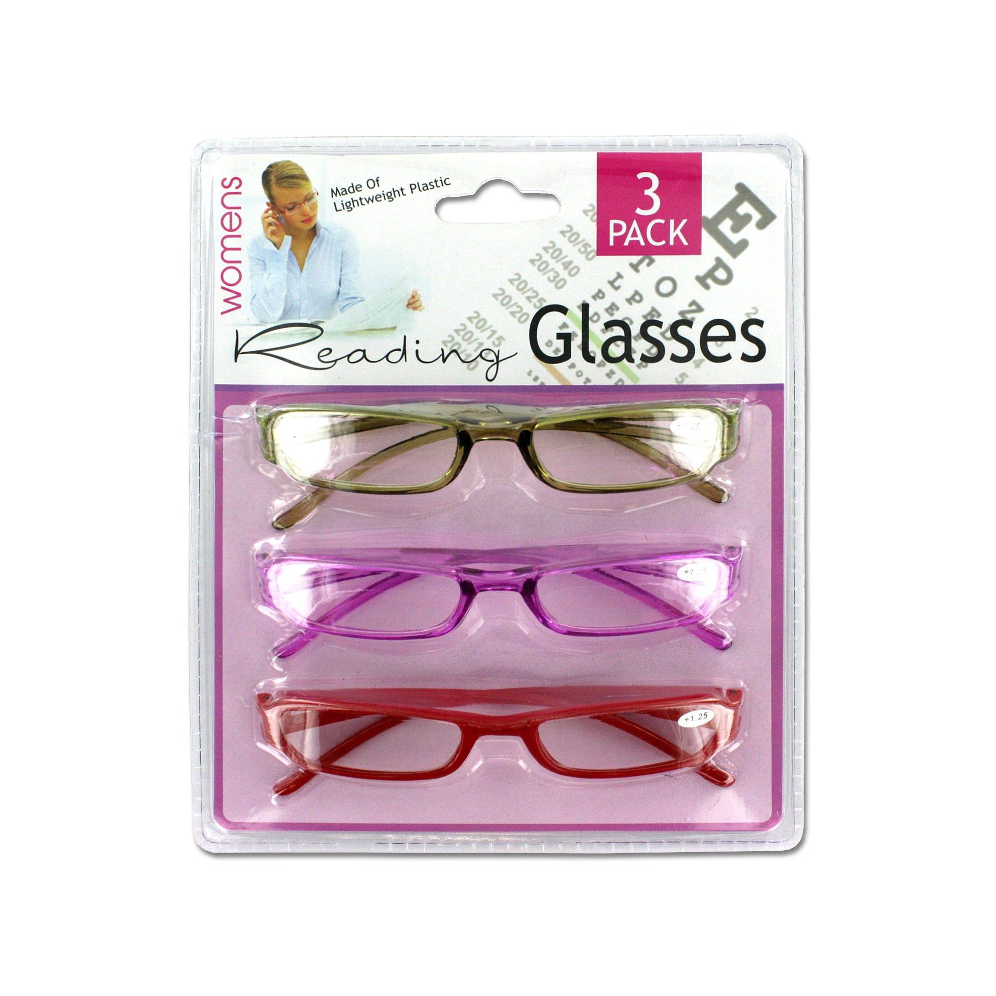 Women's READING GLASSES- Qty 6