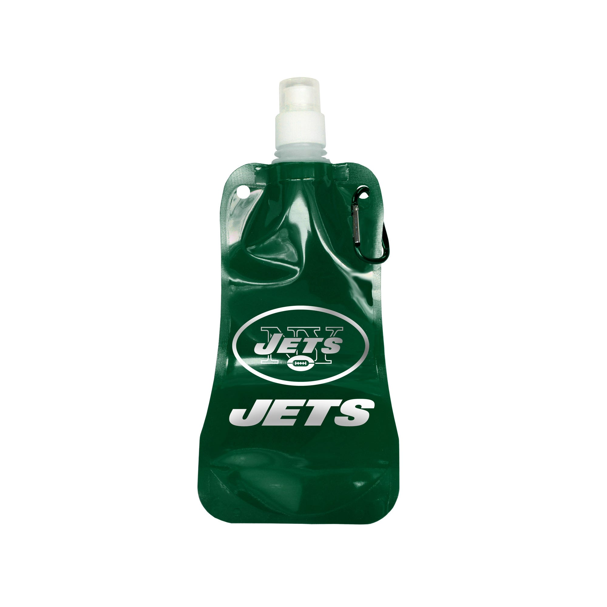 16 oz. NEW York Jets Foldable Water Bottle- Qty 24