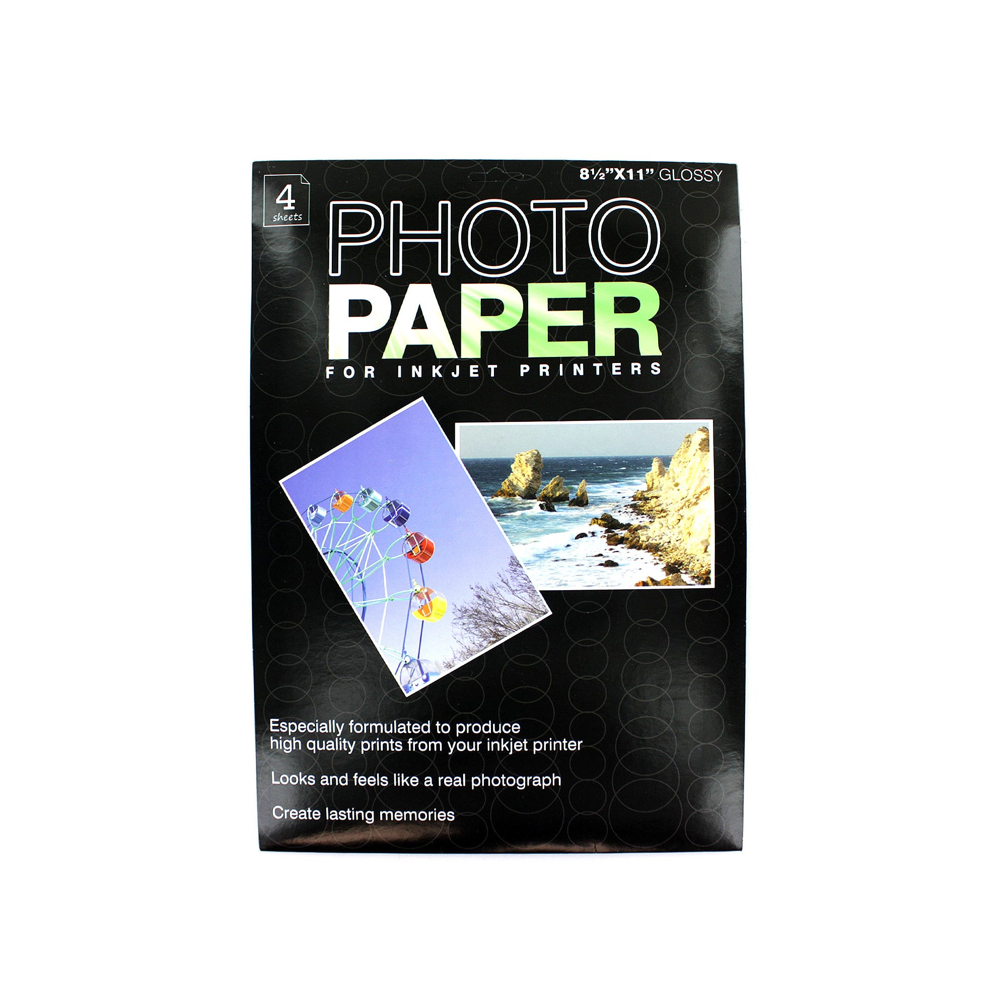 Photo Paper for Inkjet PRINTERs- Qty 24