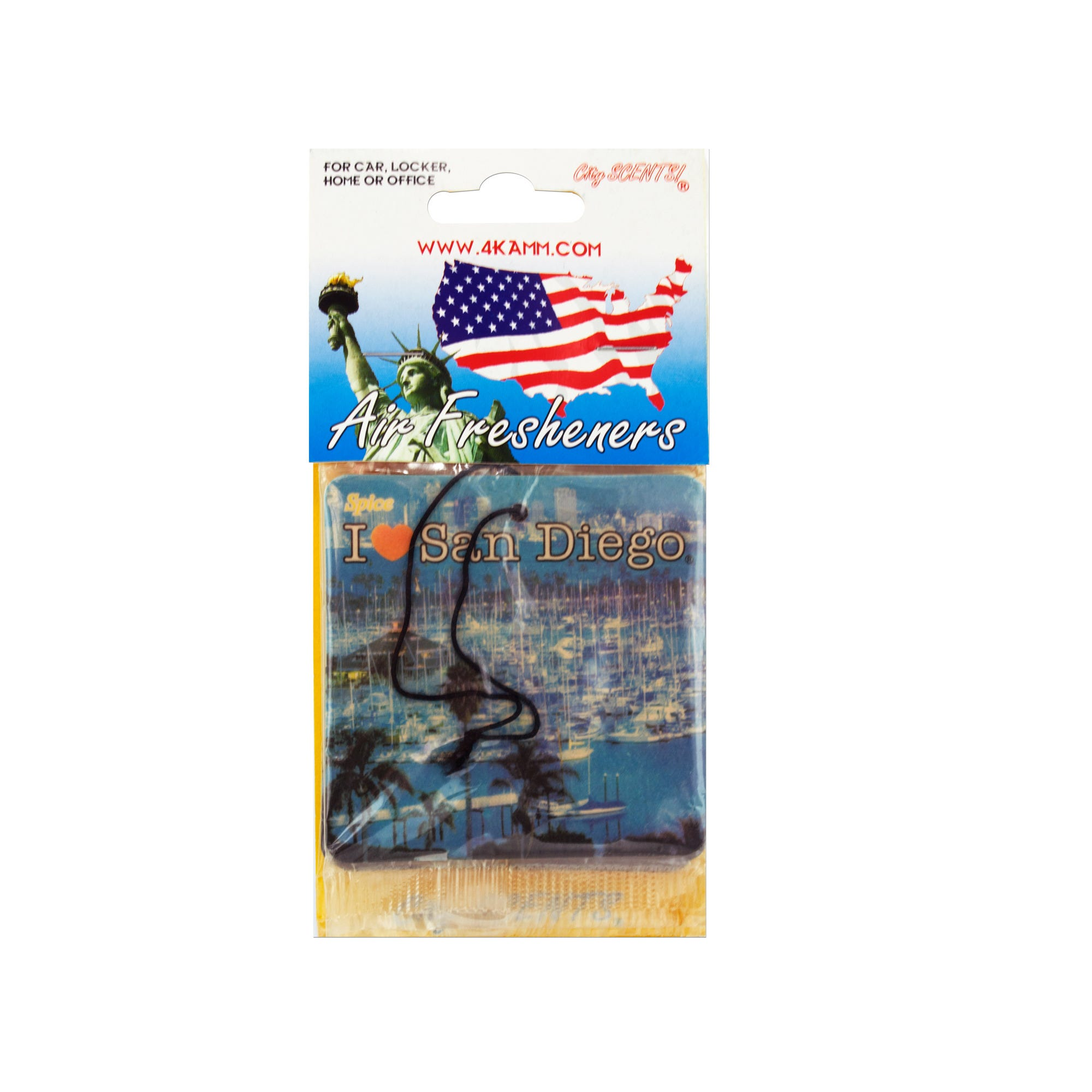 San Diego Air Freshener- Qty 24