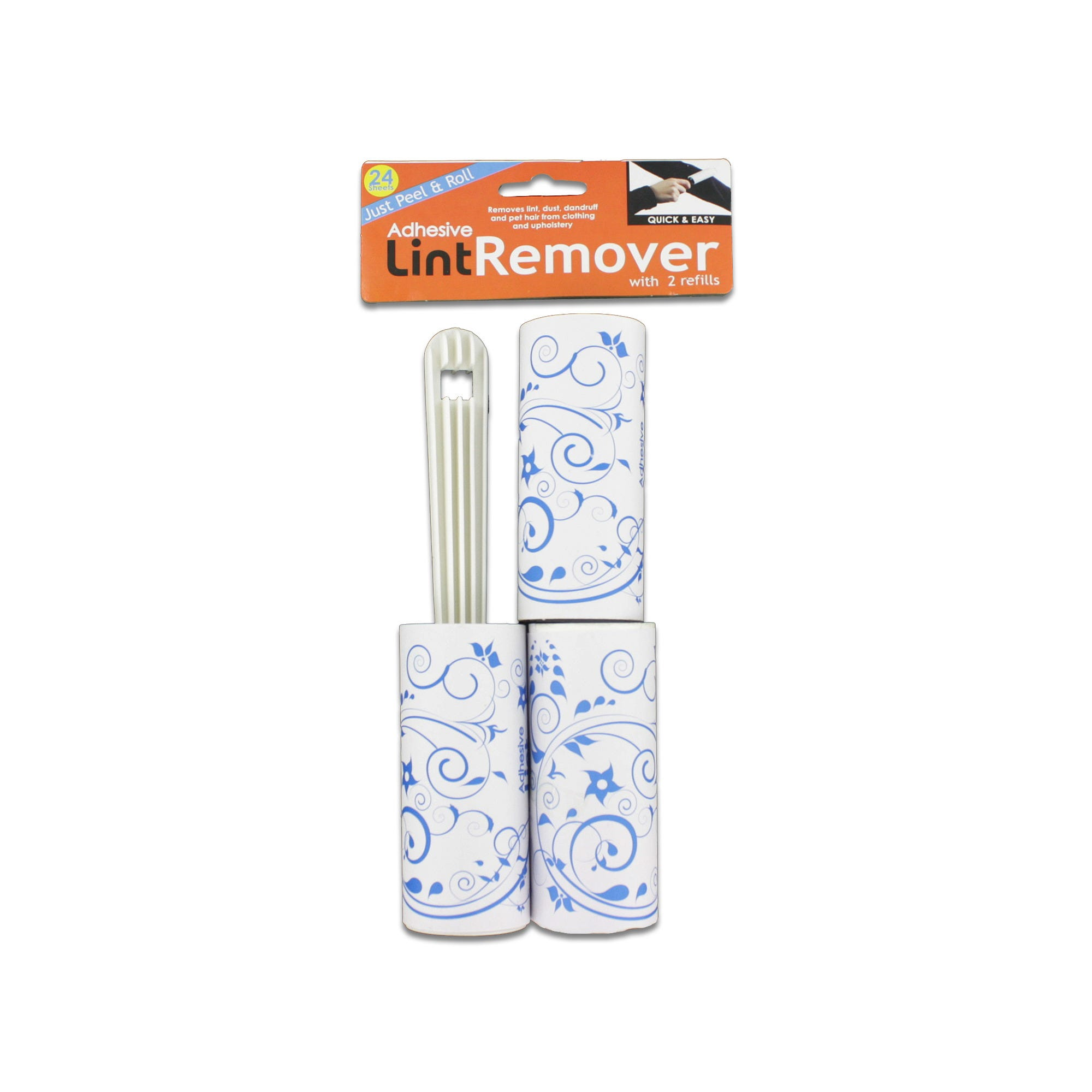 Lint Remover with Refills Set- Qty 24