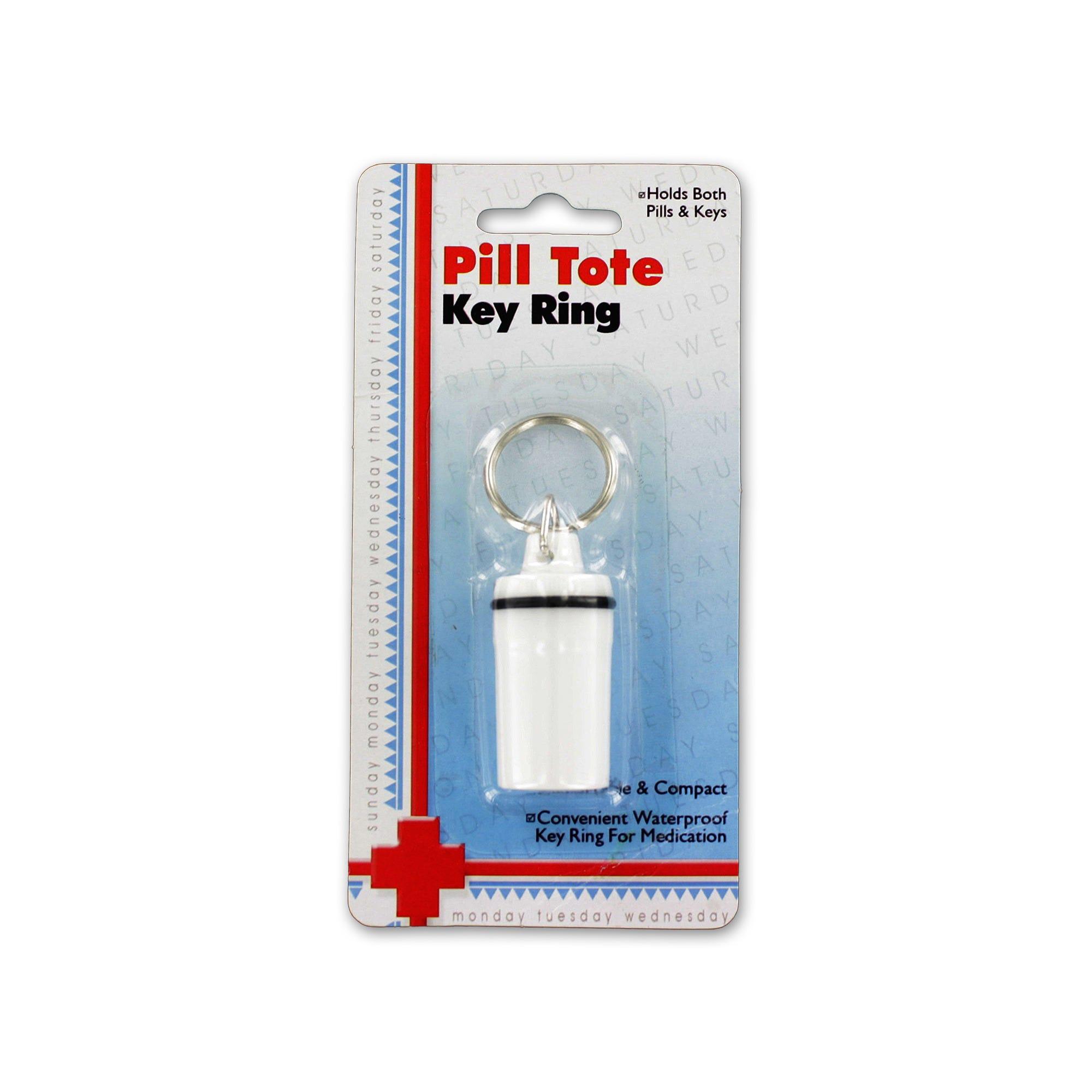 Pill Tote Key Ring- Qty 24