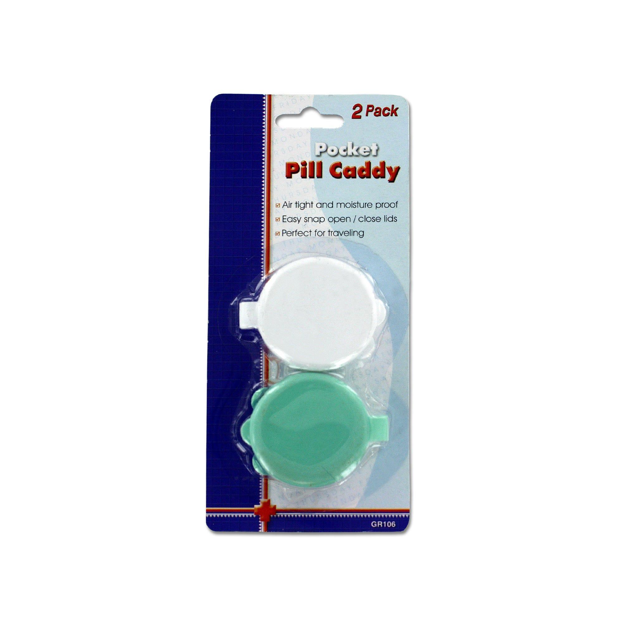 Pocket Pill Caddy Set