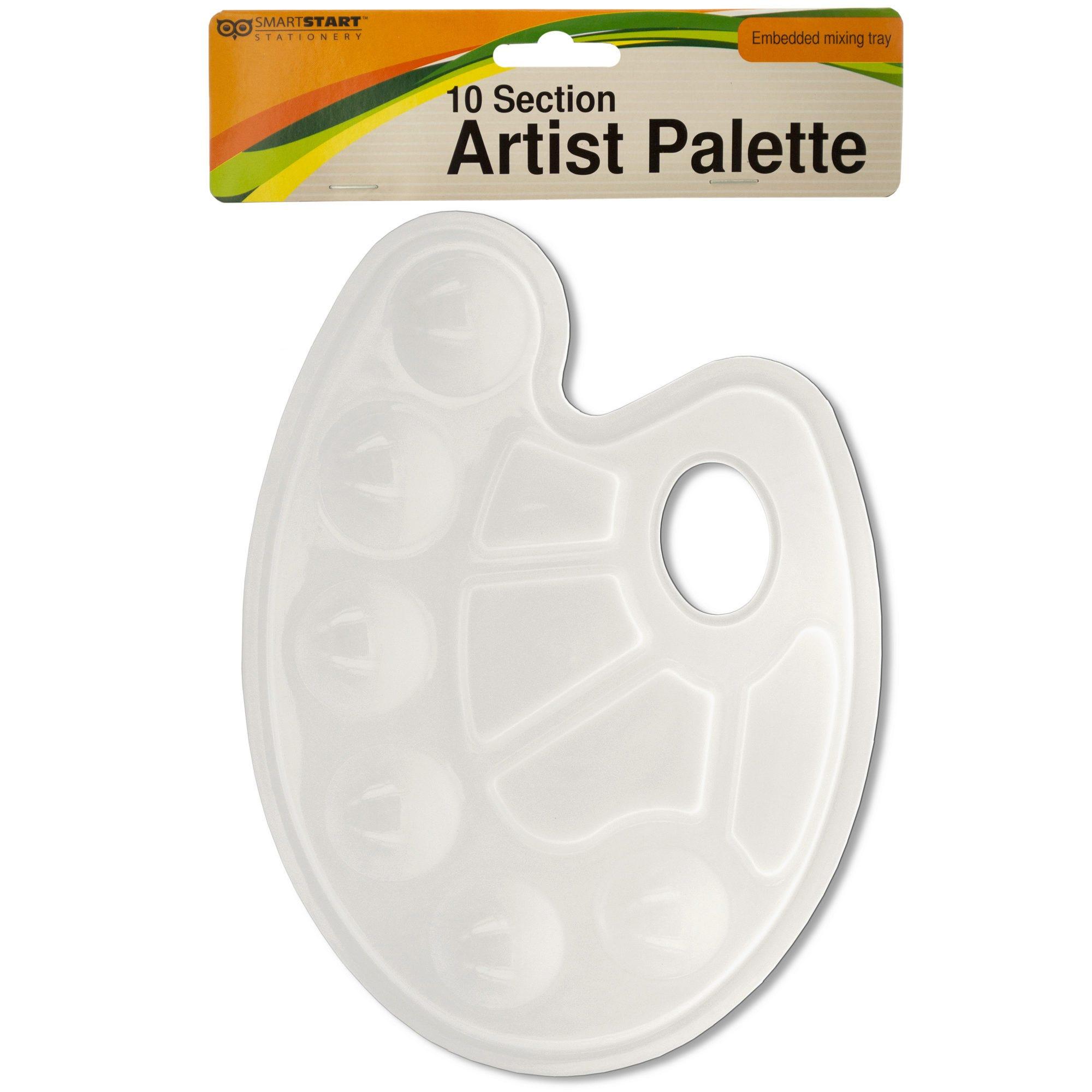 10 Section Artist PAINT Palette- Qty 24