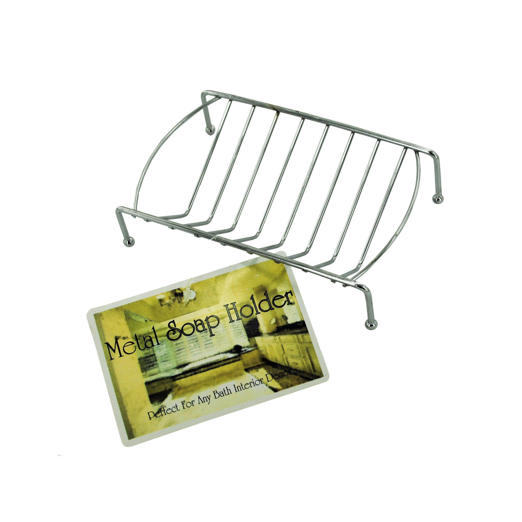 Metal SOAP Dish- Qty 24