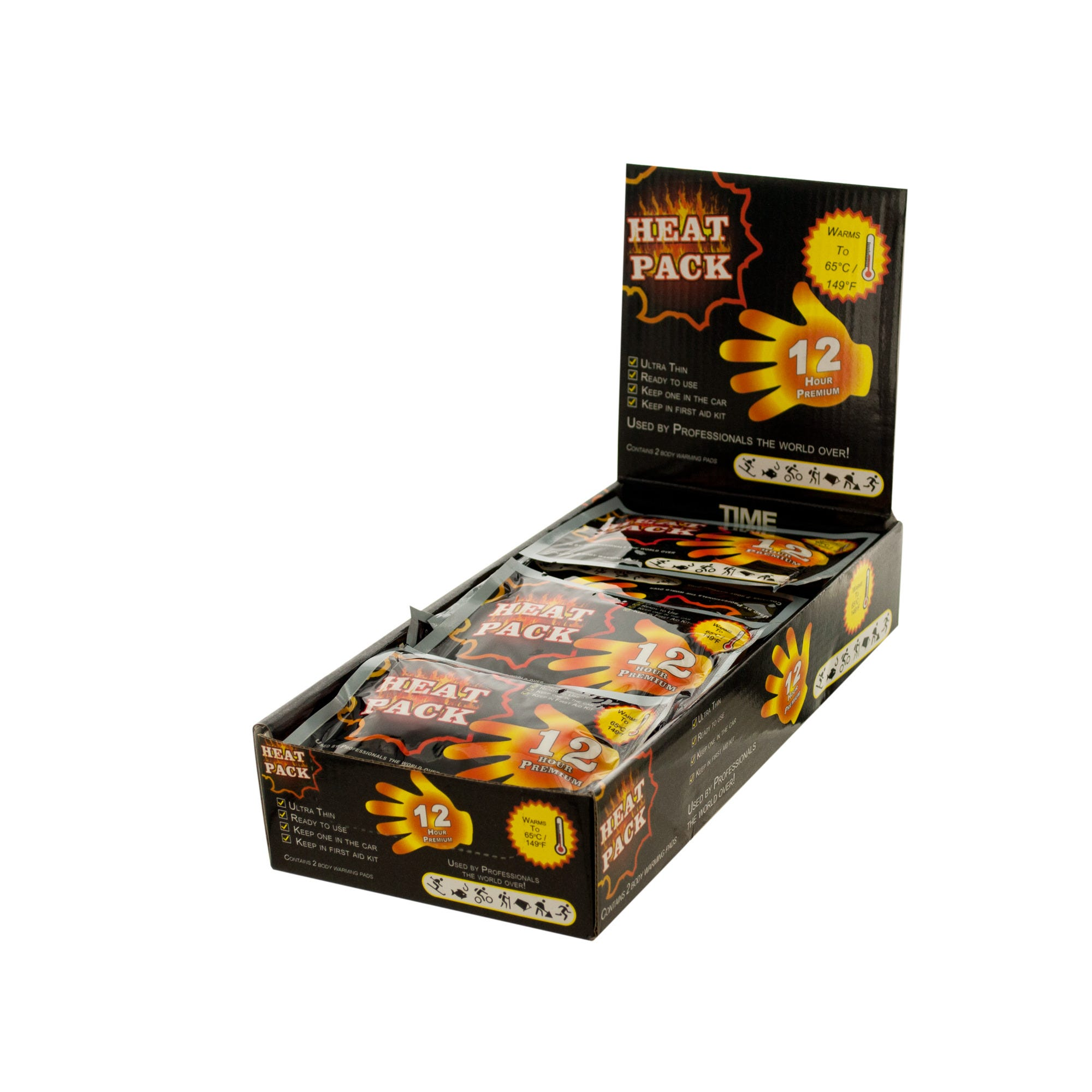 Heat Pack Hand Warmer Countertop Display- Qty 25