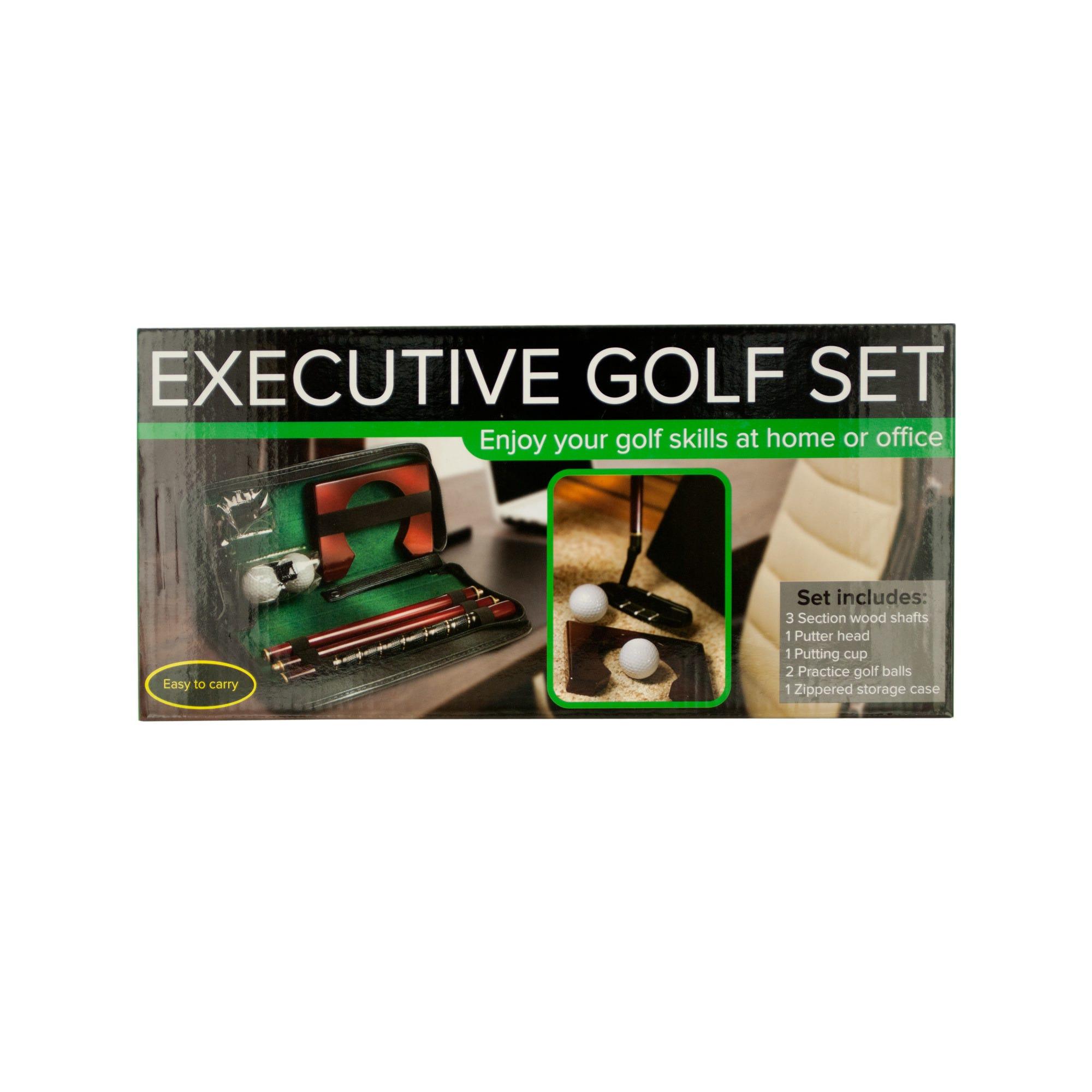 Executive Portable Golf Set- Qty 2
