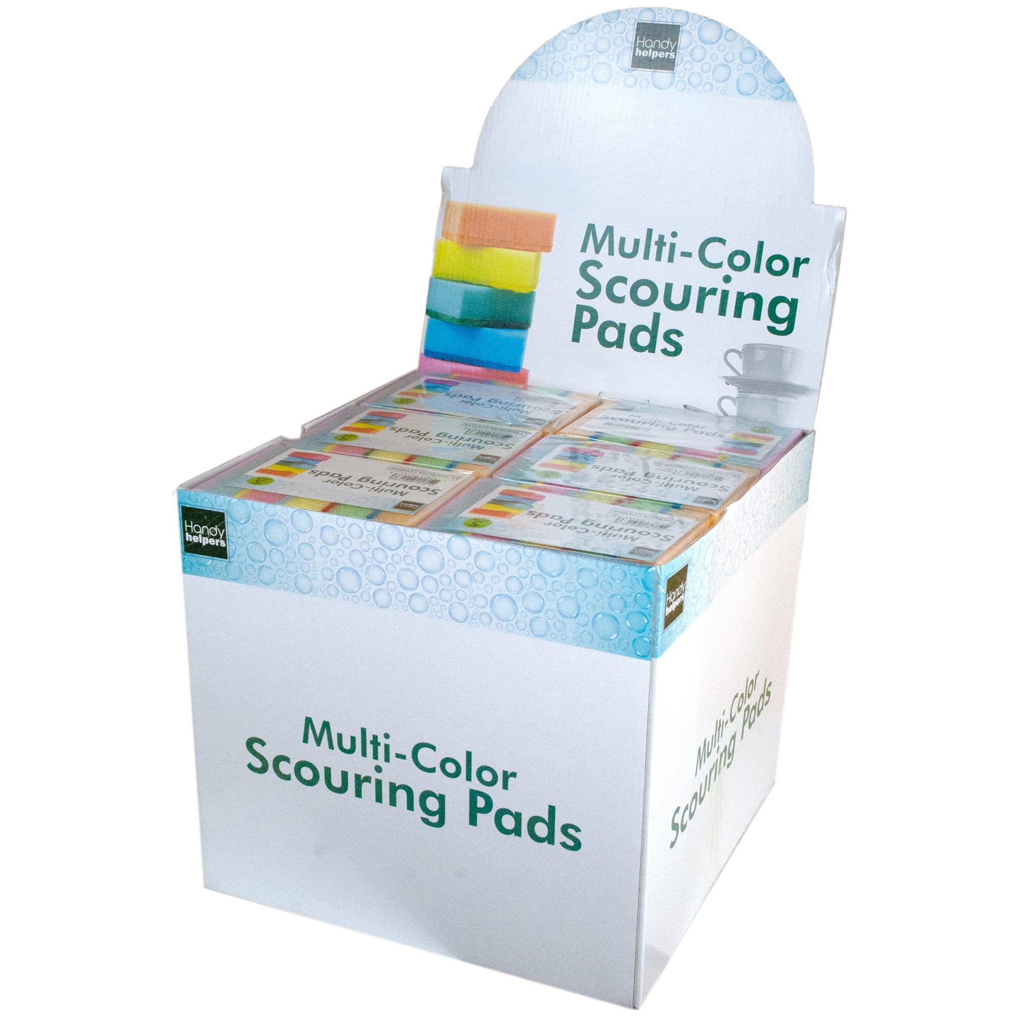 Scouring Sponge Pad Set Countertop Display