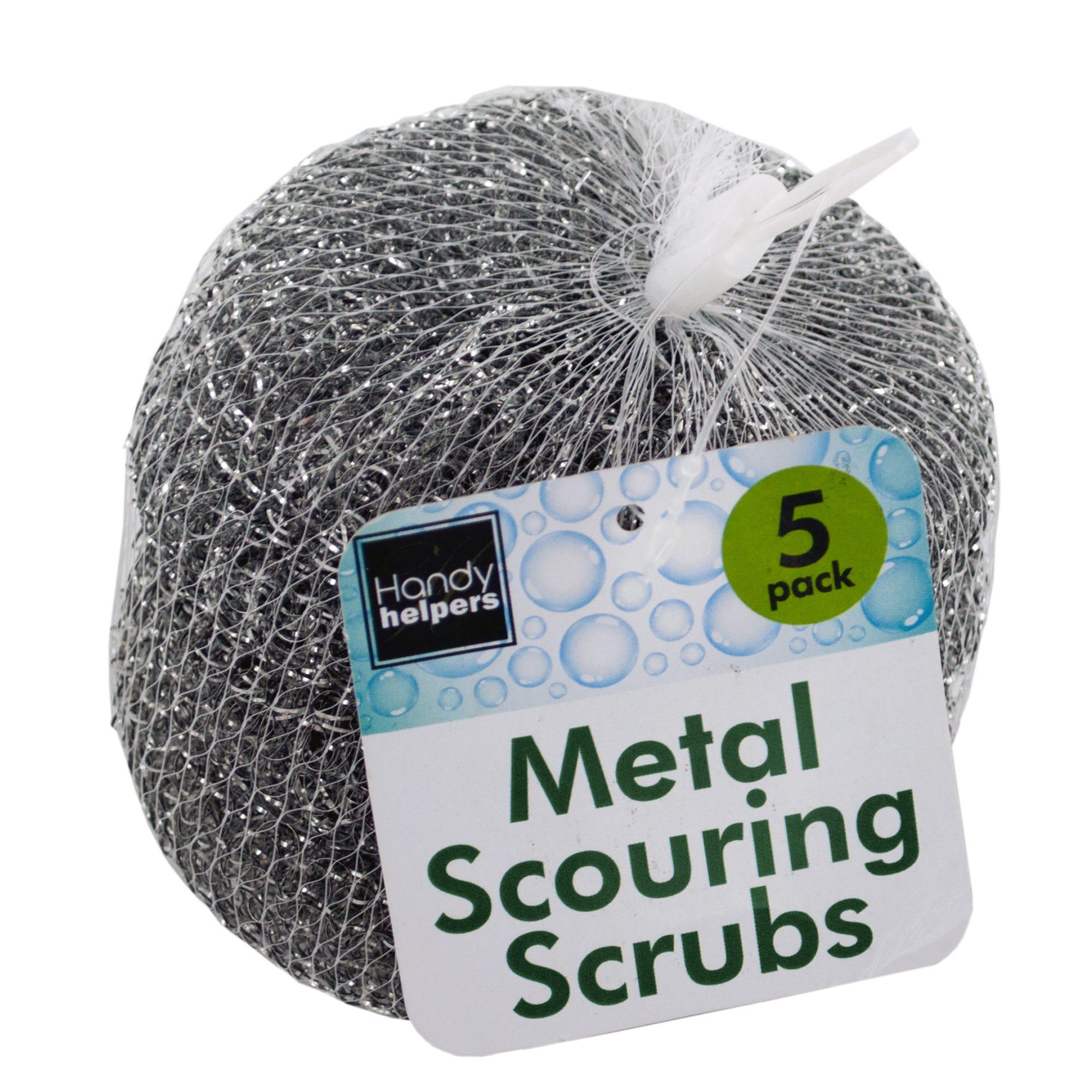 Metal Scouring SCRUBS- Qty 18