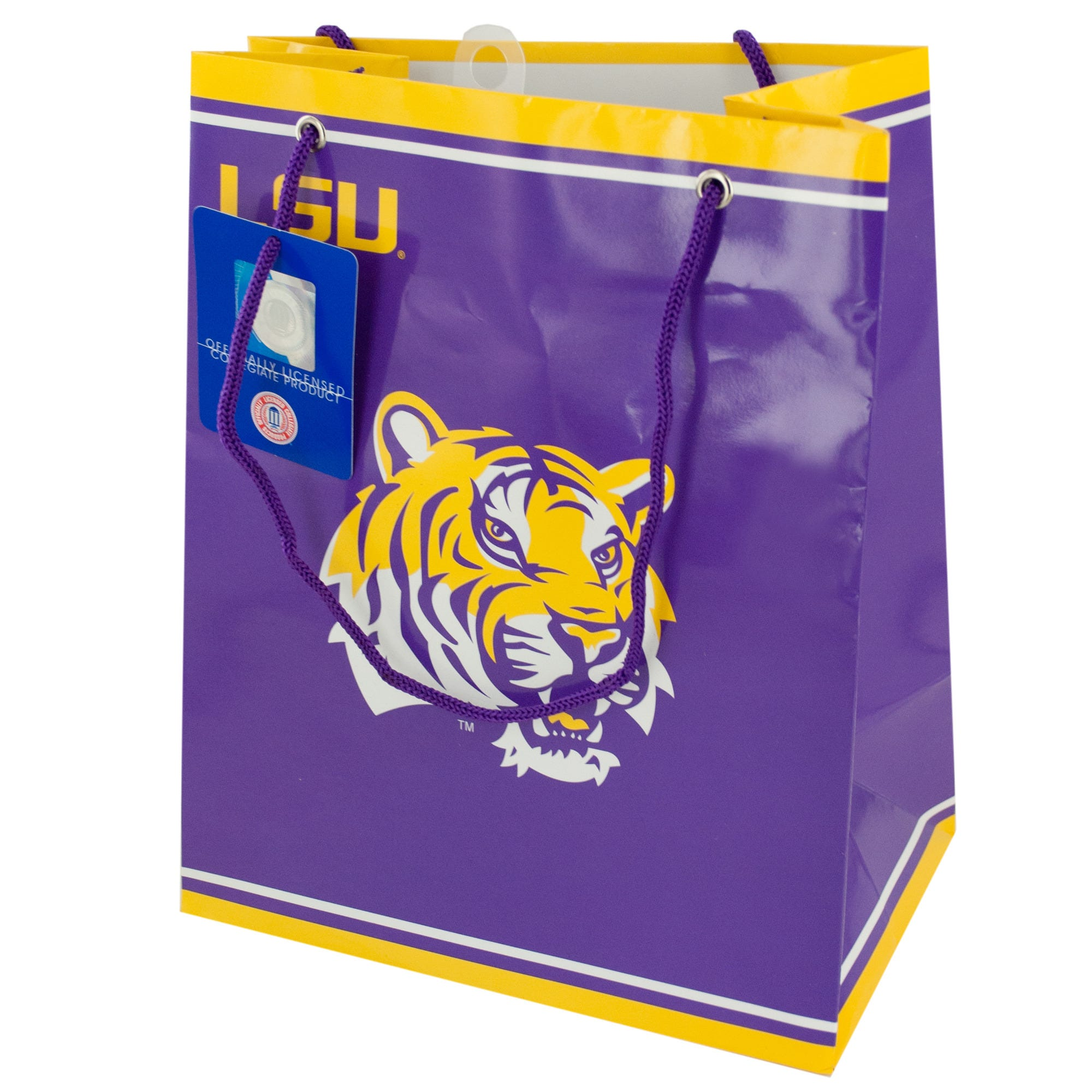 Officially LICENSED LSU Tigers Gift Bag- Qty 24