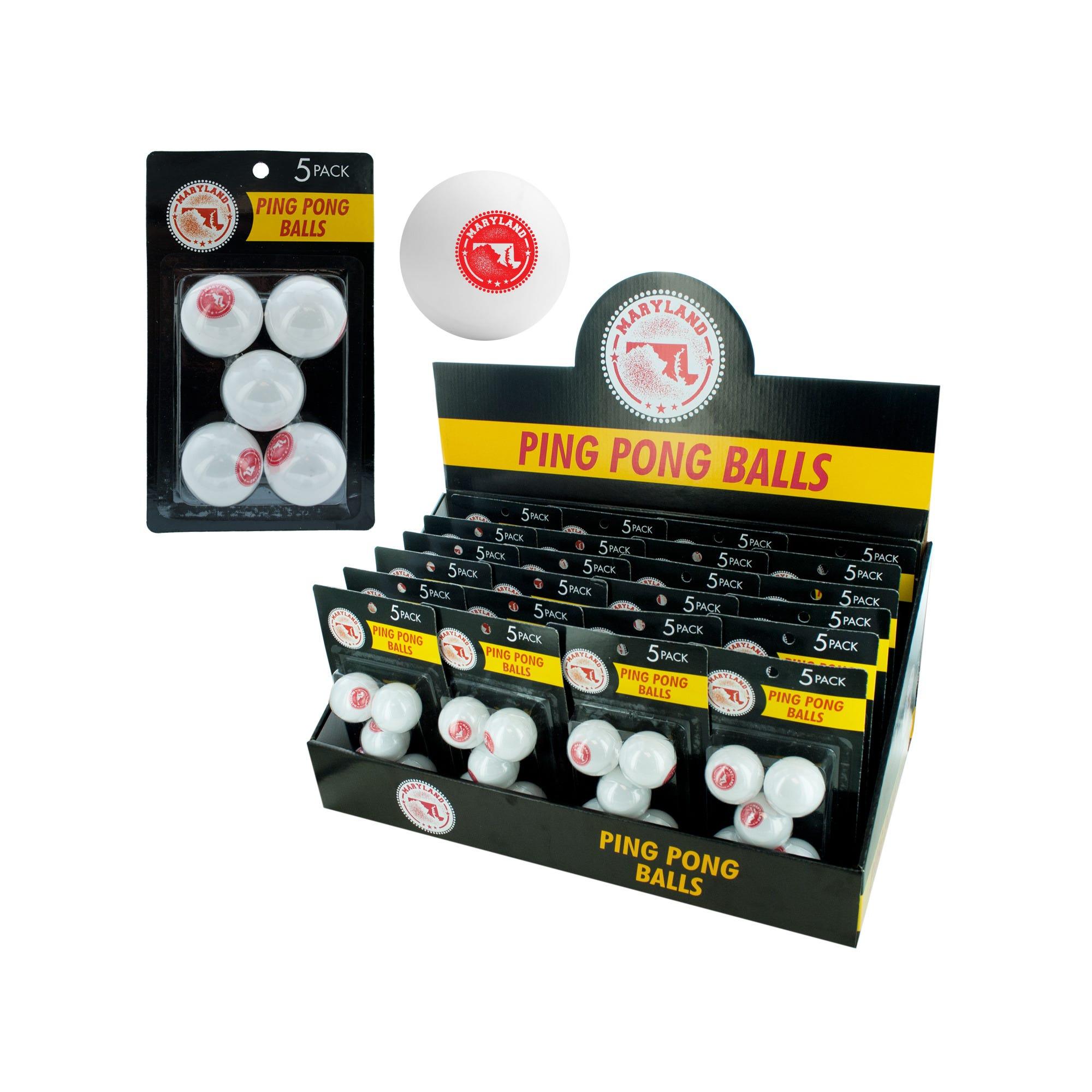 Maryland PING PONG Ball Countertop Display- Qty 24