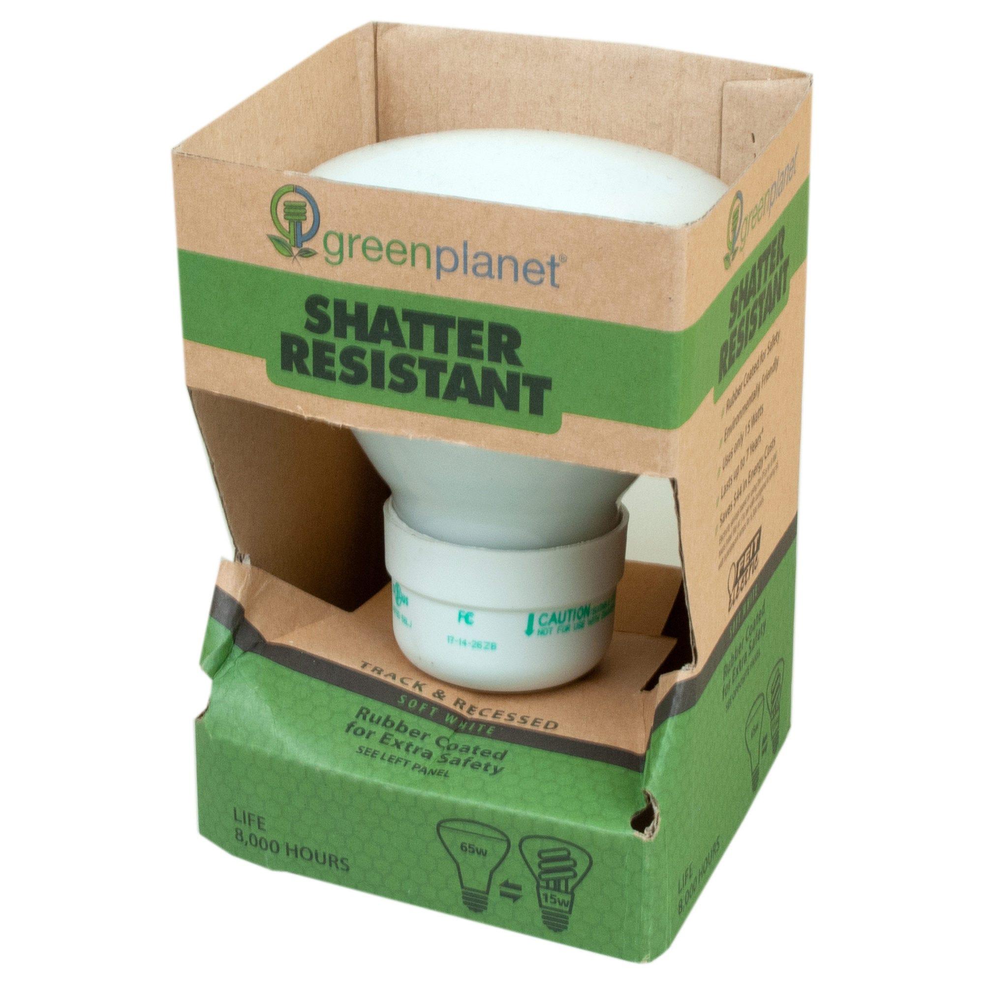 Green Planet Shatter Resist. 65 Watt Replacement LIGHT BULBS- Qty 30