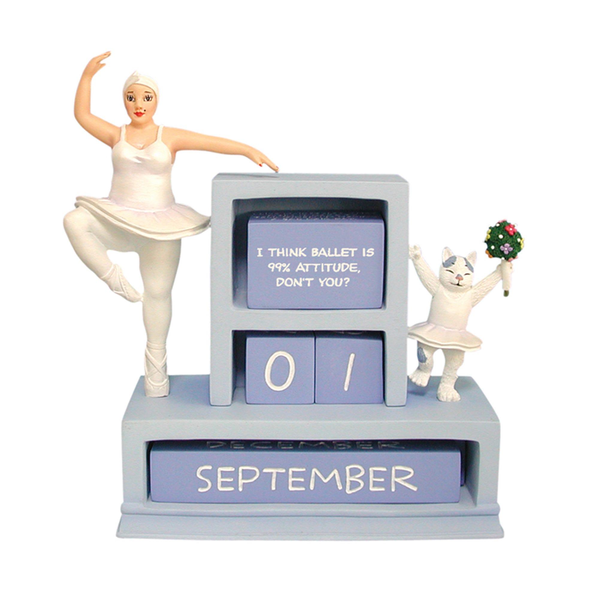 ballerina-perpetual-CALENDAR-figurine