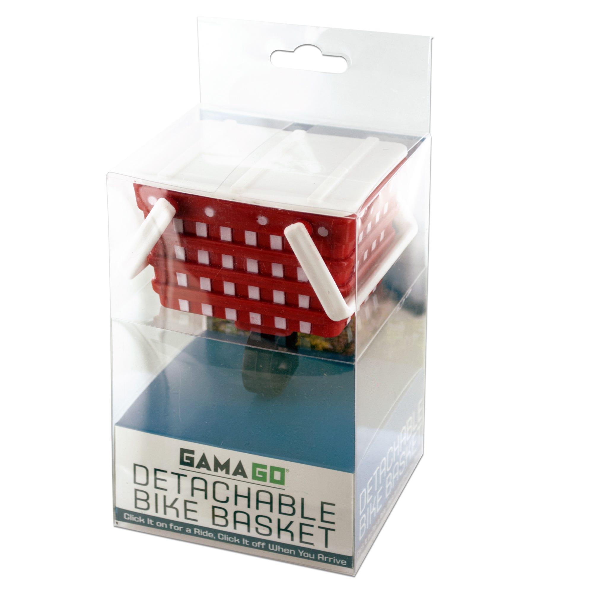 Mini Detachable Bike Basket- Qty 18