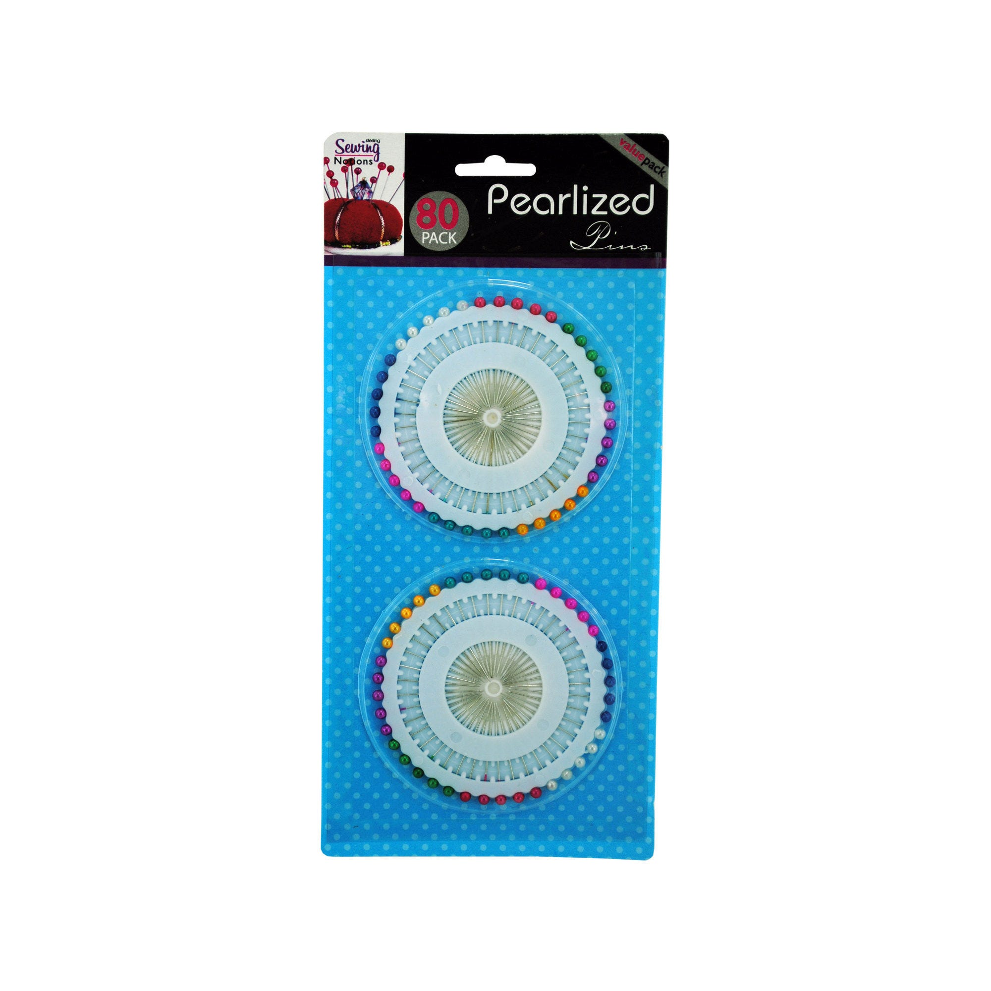 Pearlized Straight Pins- Qty 24