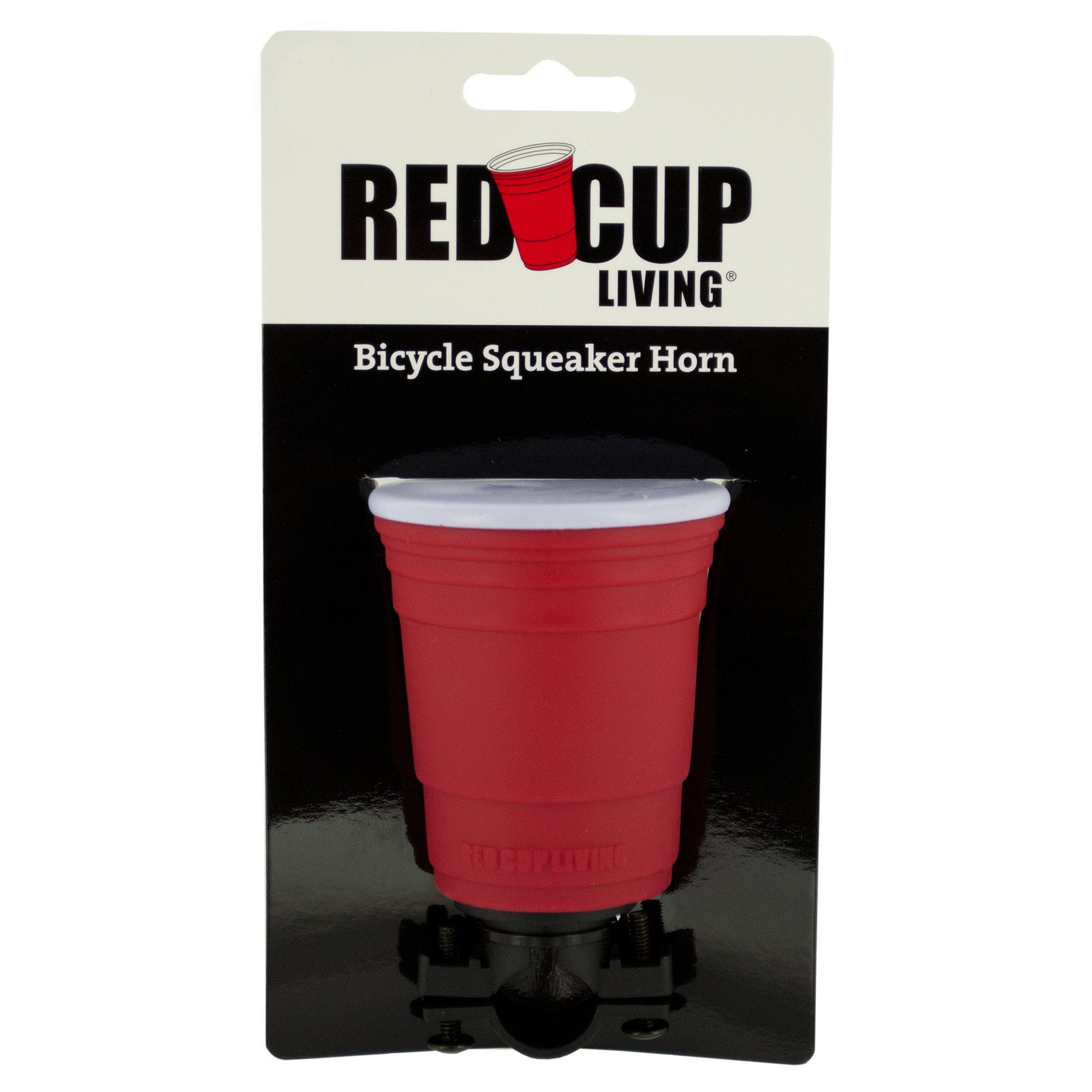 Red Cup Living Bicycle Squeaker Horn- Qty 18