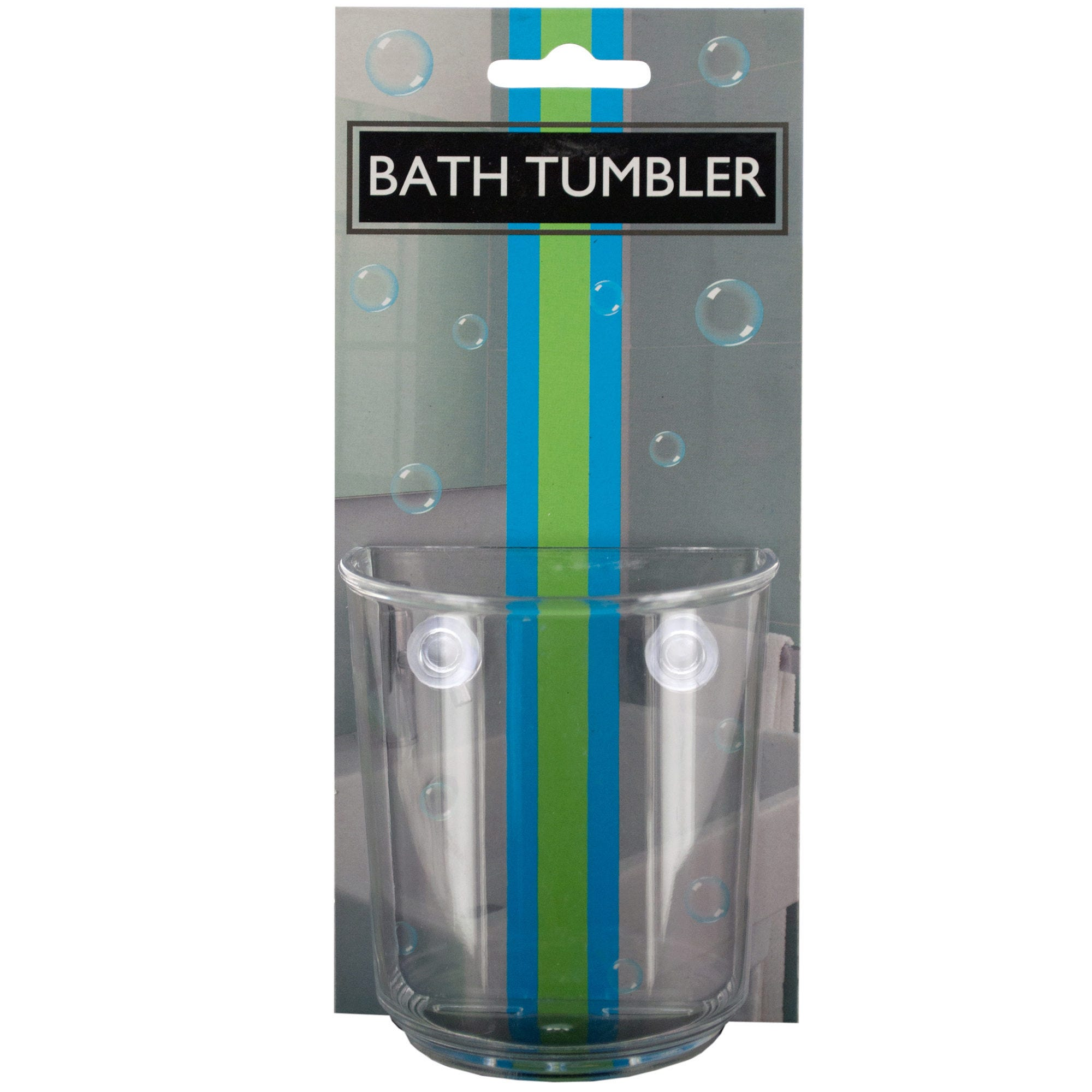 Bath Tumbler with Suction Cups- Qty 24