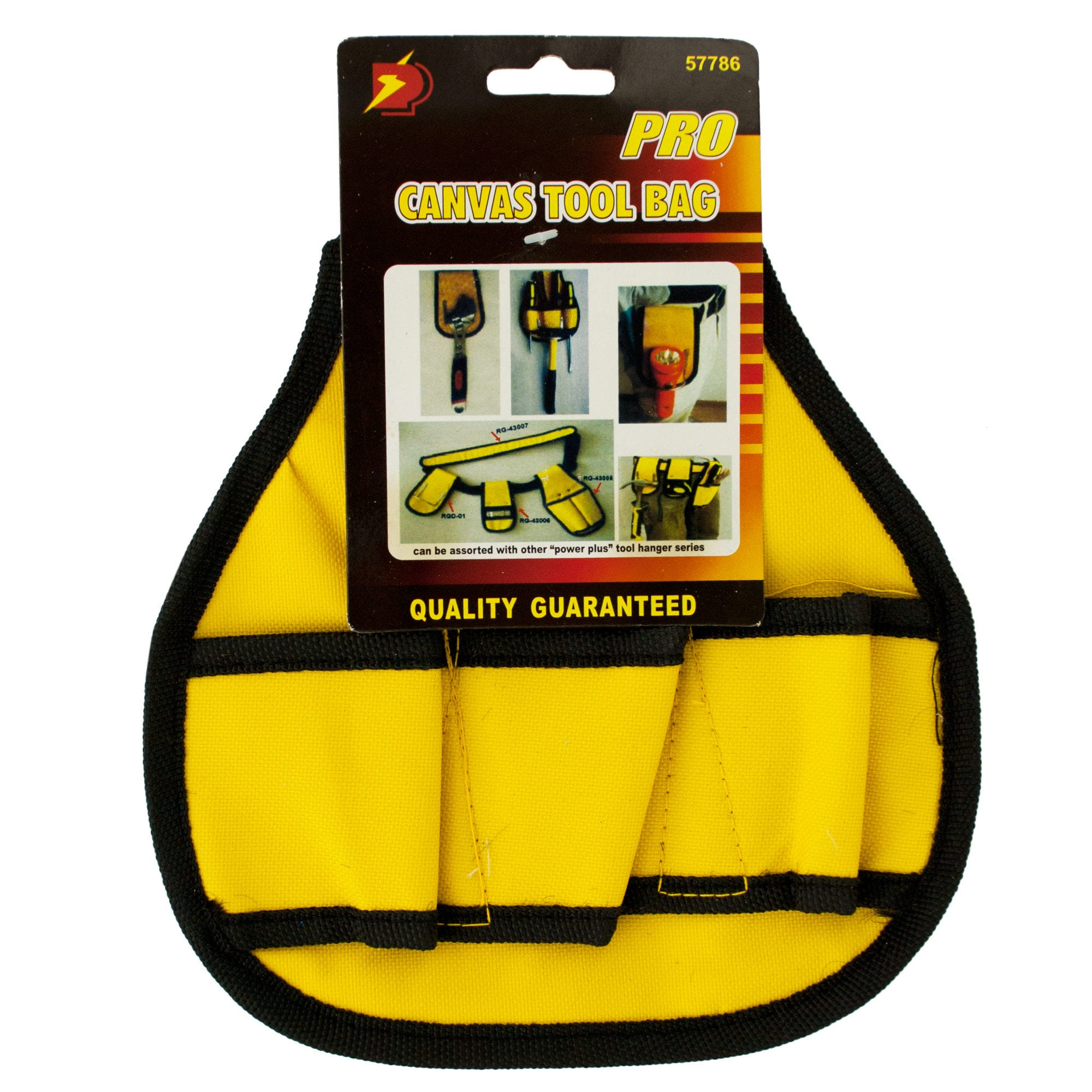 Canvas Wide TOOL Holder BELT Accessory- Qty 24