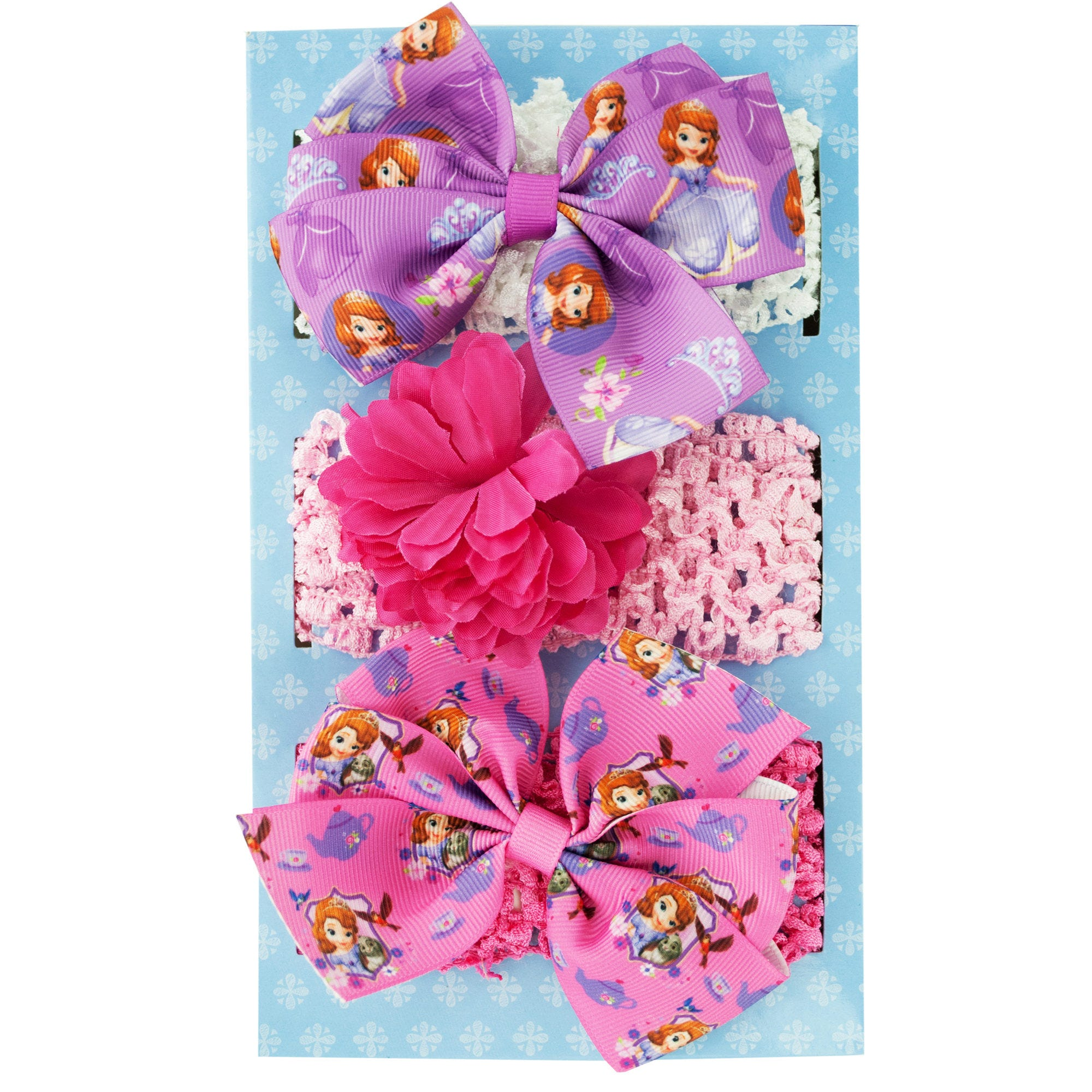 Sofia the First Headwraps with BOWs Set- Qty 24