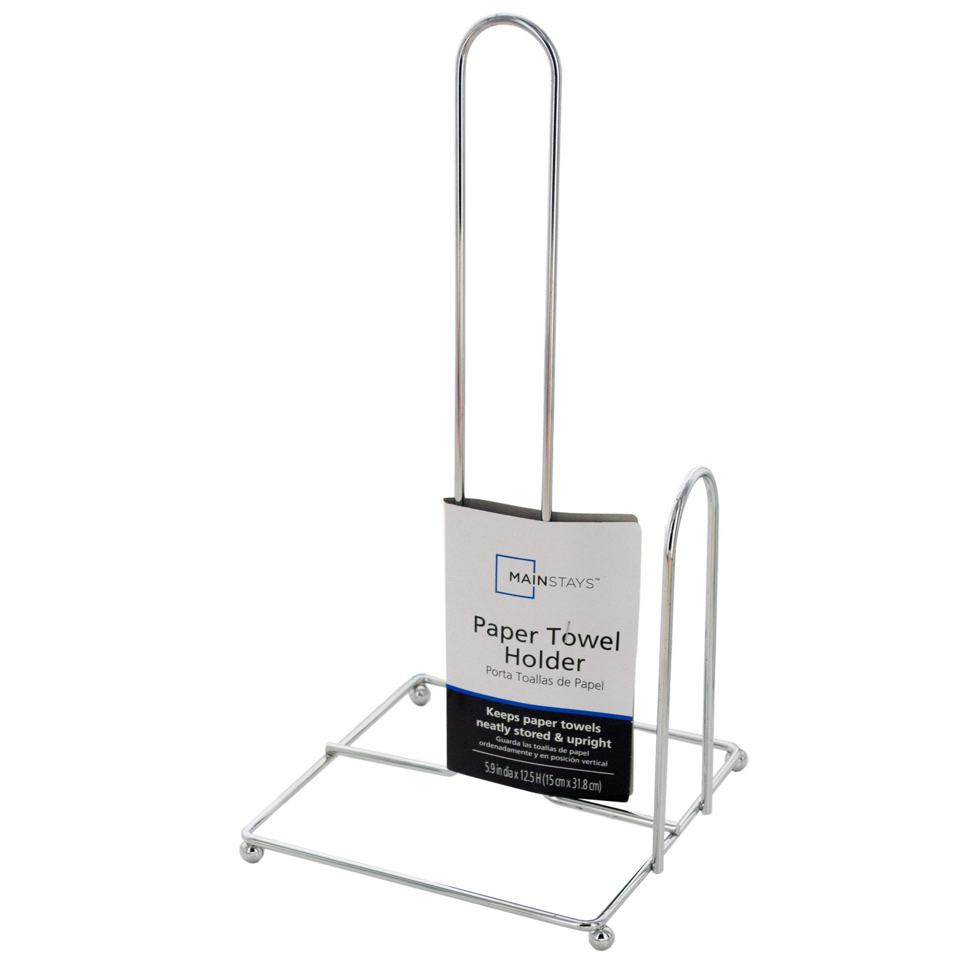 Chrome Finish Paper TOWEL Holder- Qty 24
