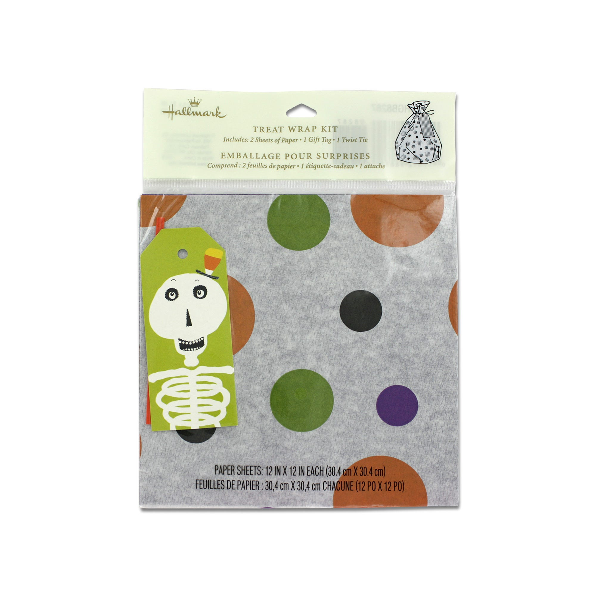 HALLOWEEN Themed Gift Wrap Kit- Qty 24