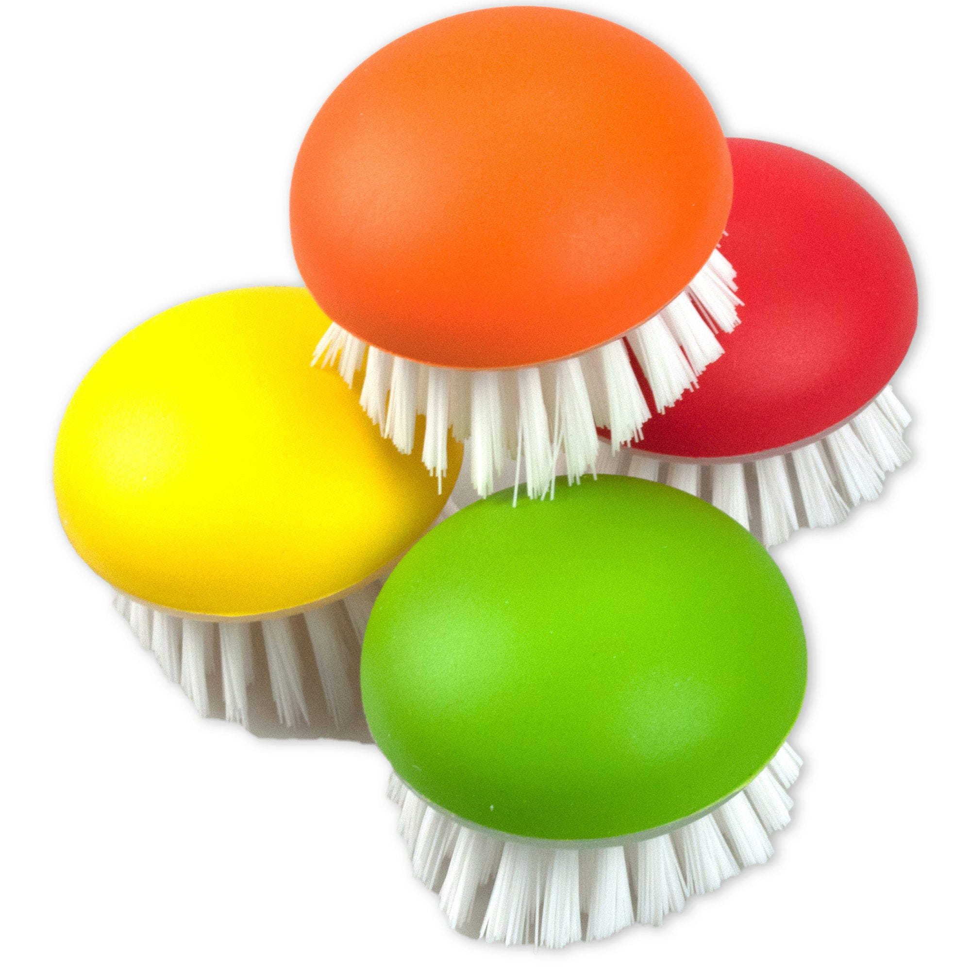 Assorted Color Vegetable Brush in Countertop Display- Qty 4