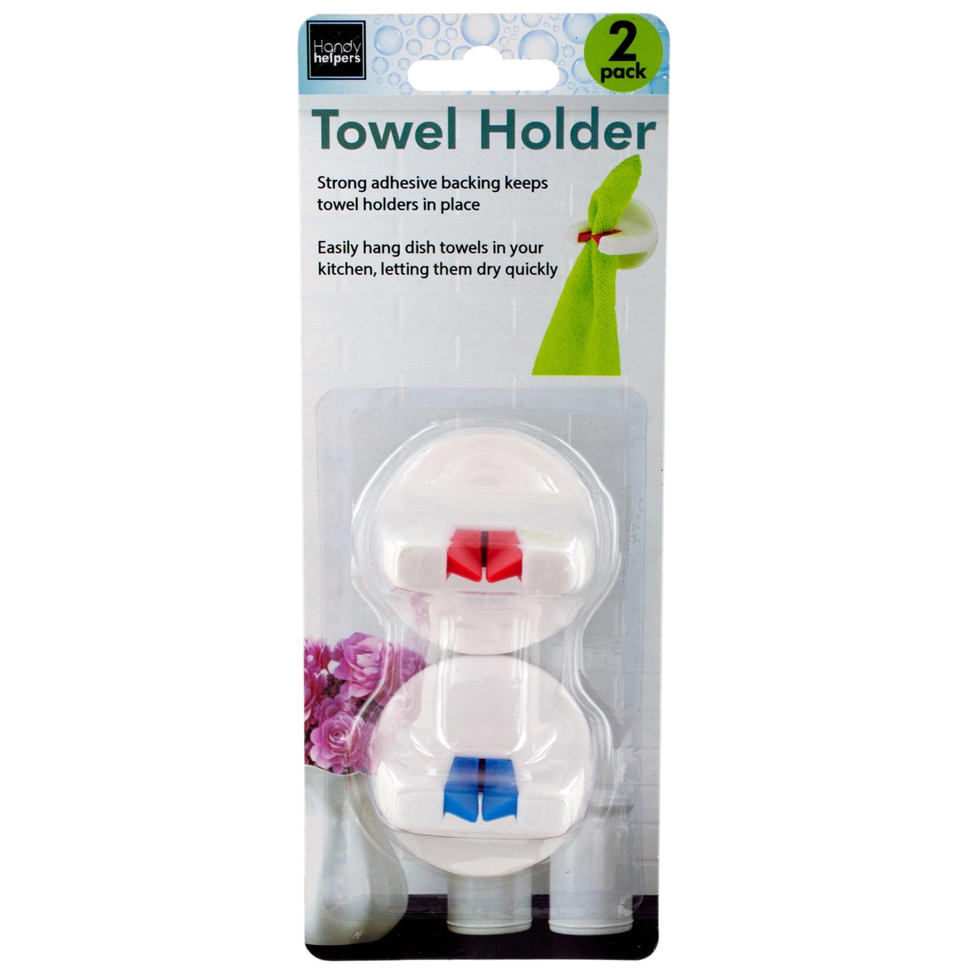 Self-Adhesive TOWEL Holders- Qty 18