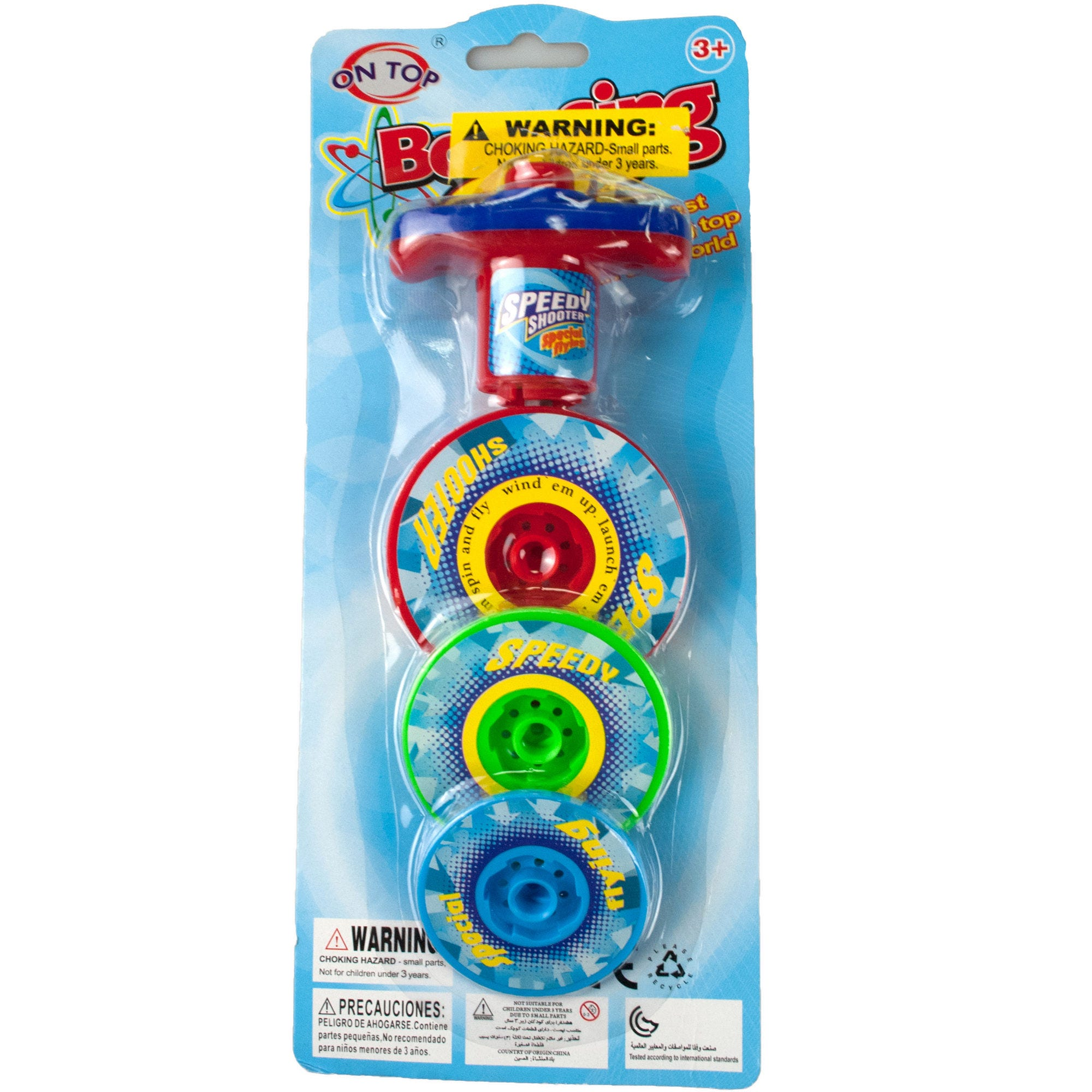 3 Layer Bouncing Top SPINNER Toy- Qty 18