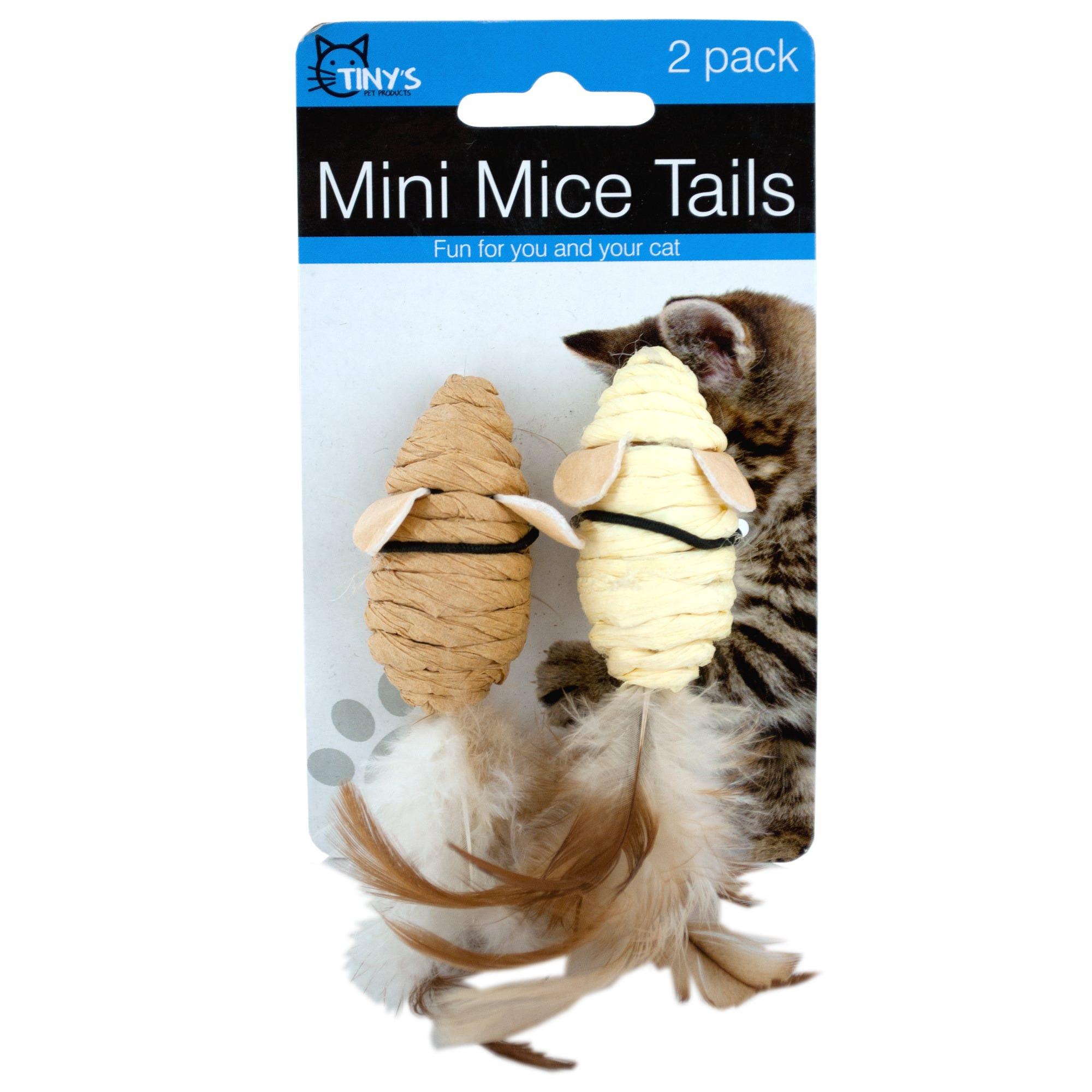 Mini Mice Cat TOYS- Qty 24