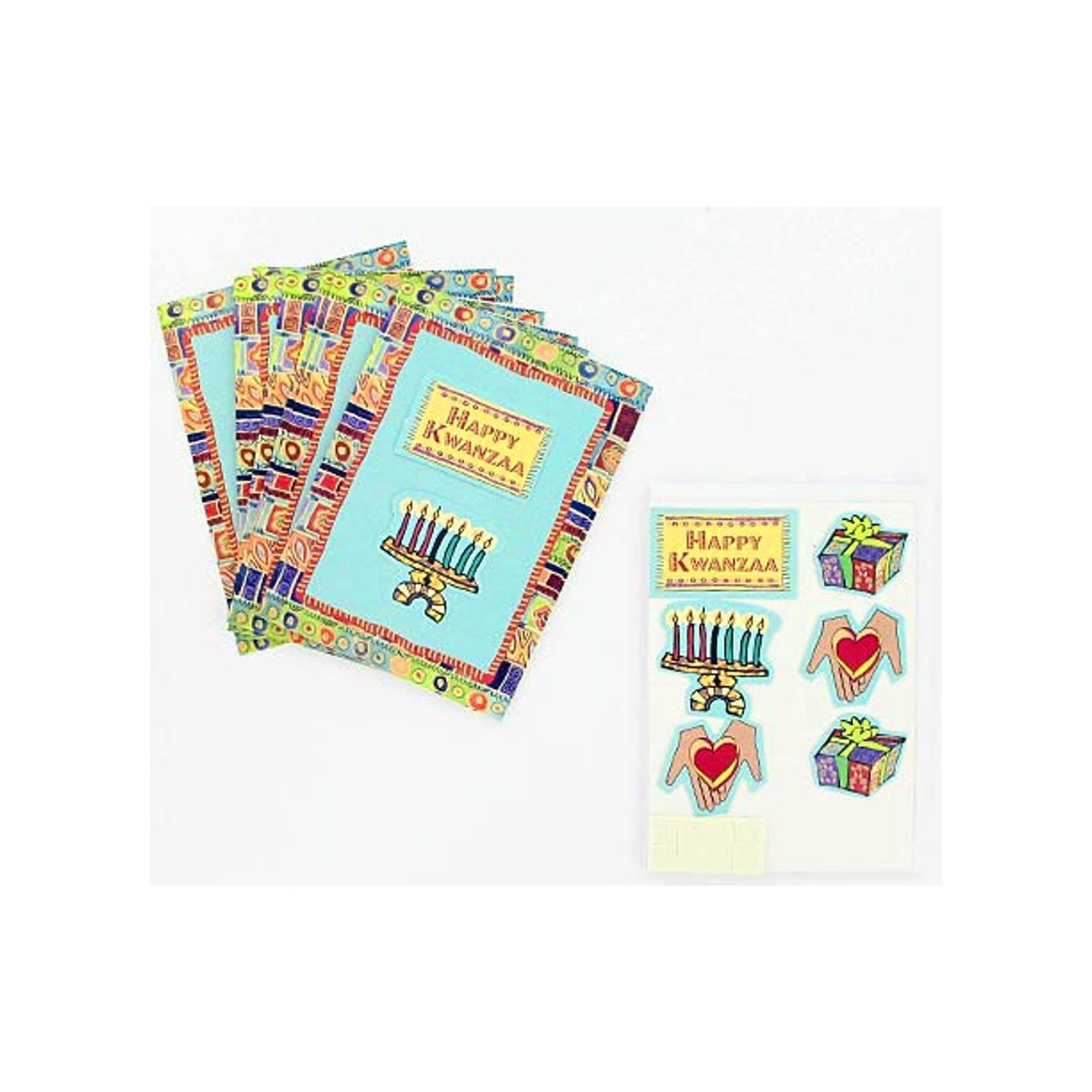 Kwanzaa Note Cards with ENVELOPES- Qty 24
