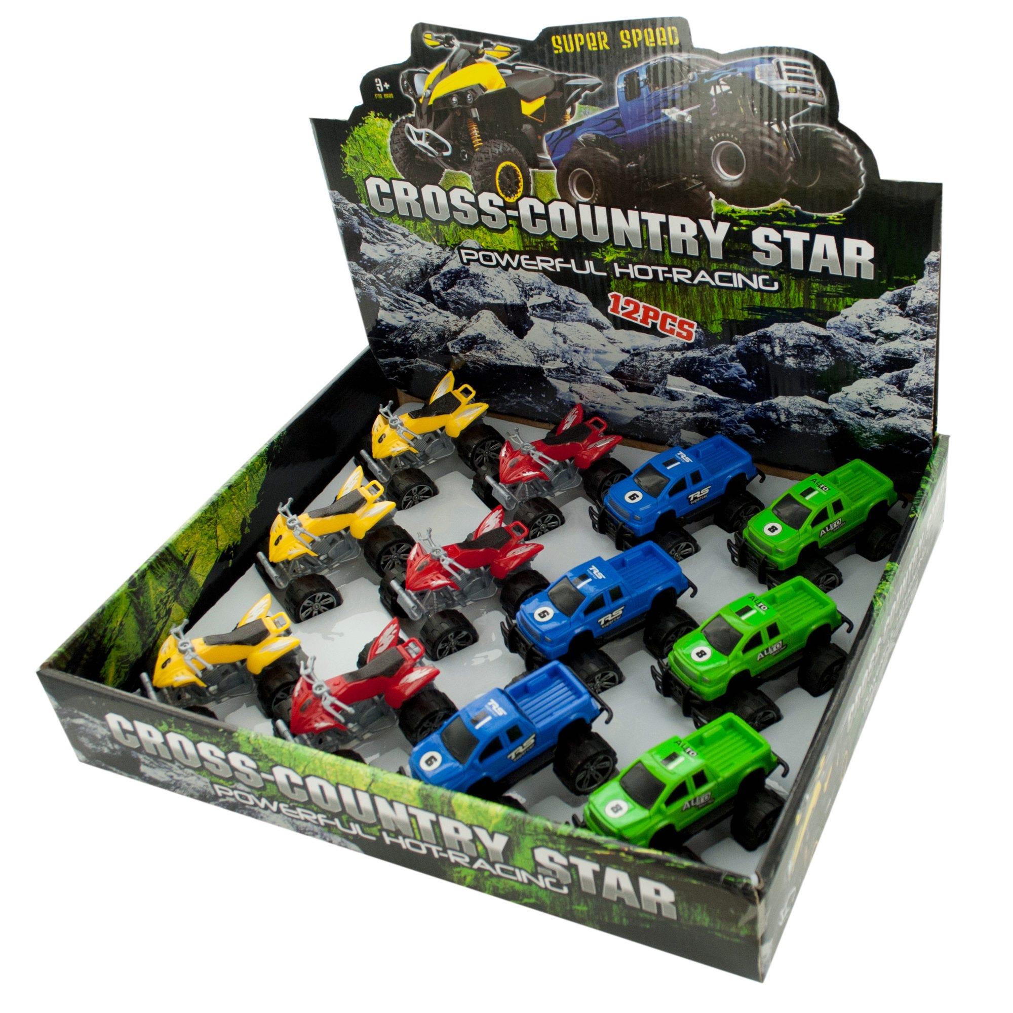 Cross-Country Star Racer Countertop Display